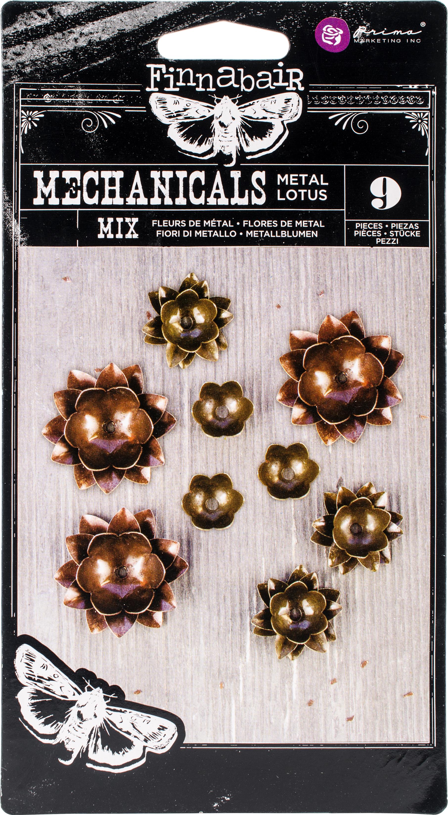 Mechanicals - Metal Lotus