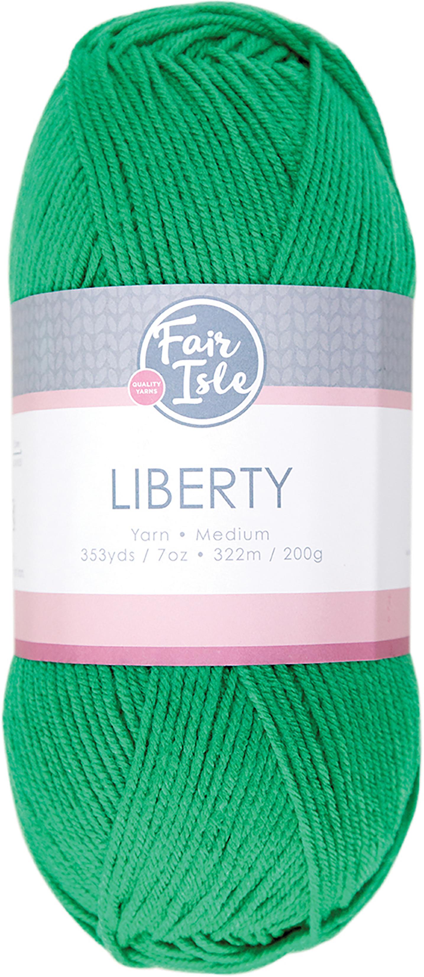 Fair Isle Liberty 200g Yarn-Grass