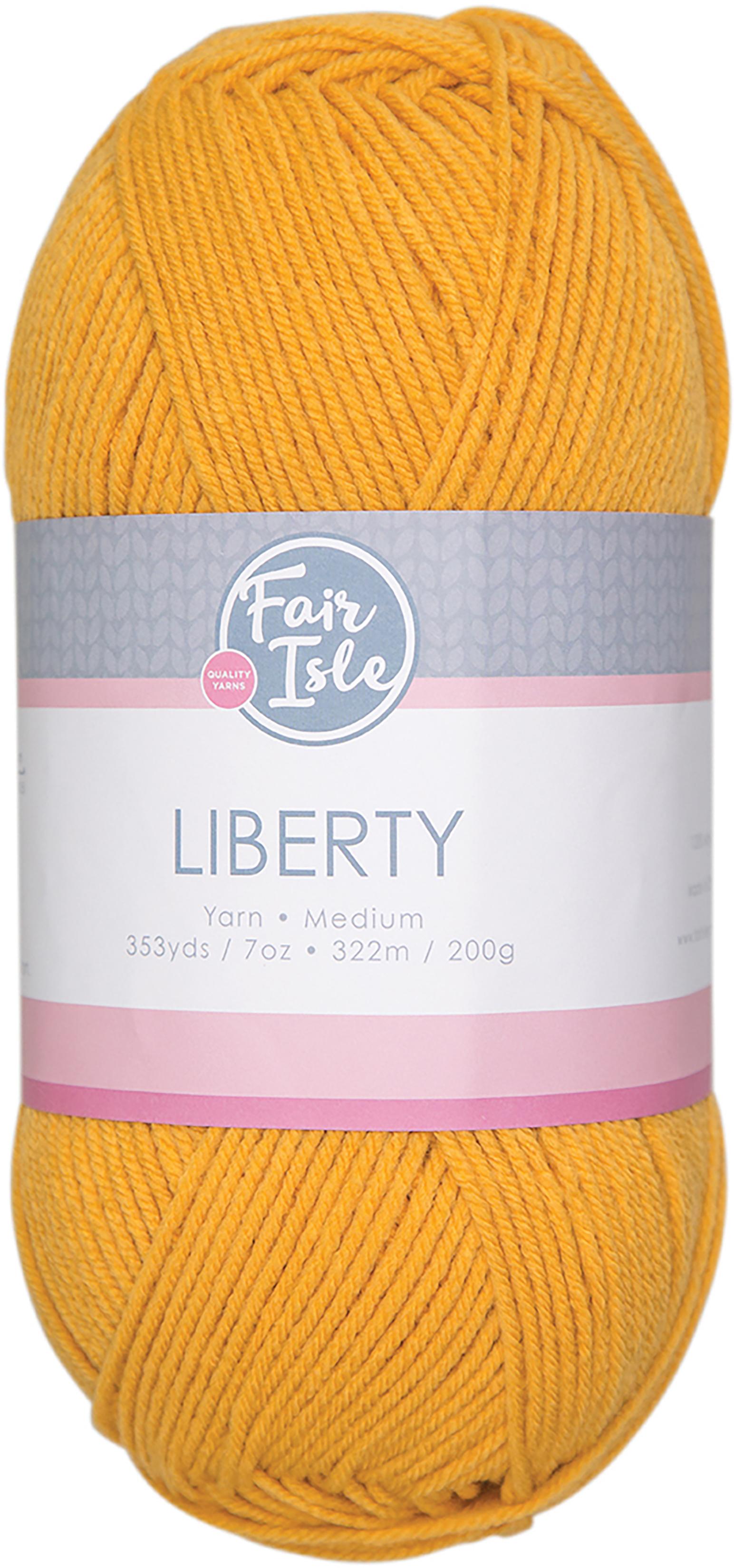 Fair Isle Liberty 200g Yarn-Honey
