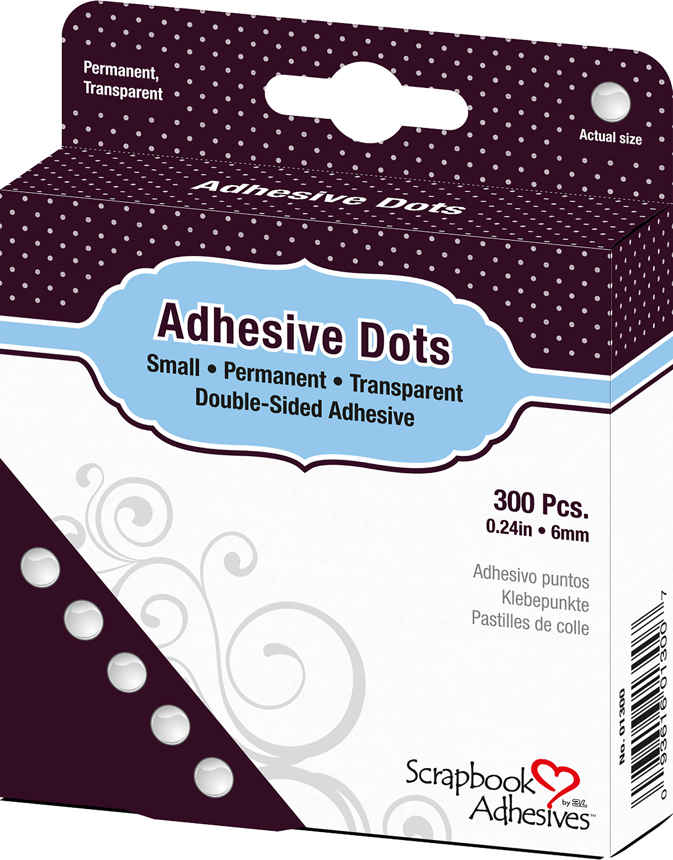 Small Adhesive Dots - 6mm
