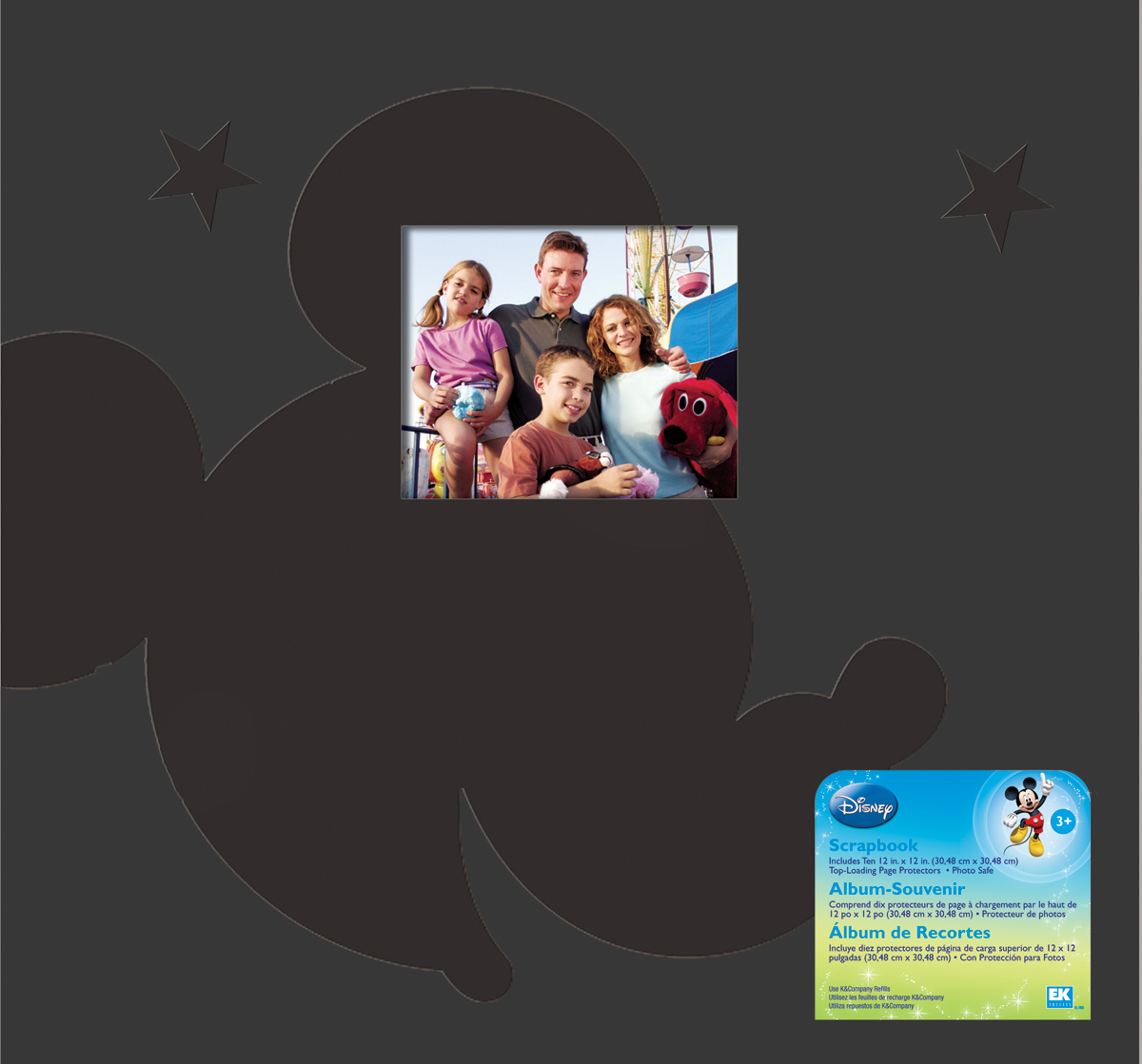 EK Success Disney Post Bound Album 12X12-Mickey