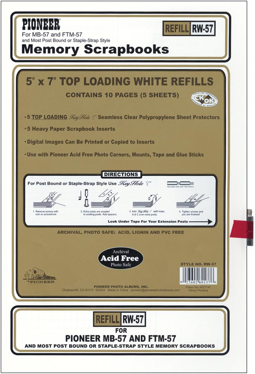 REF-PN 5X7 EZ LOAD WHITE