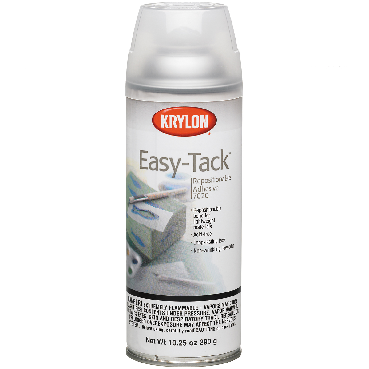 Easy-Tack Repositional Adhesive Spray