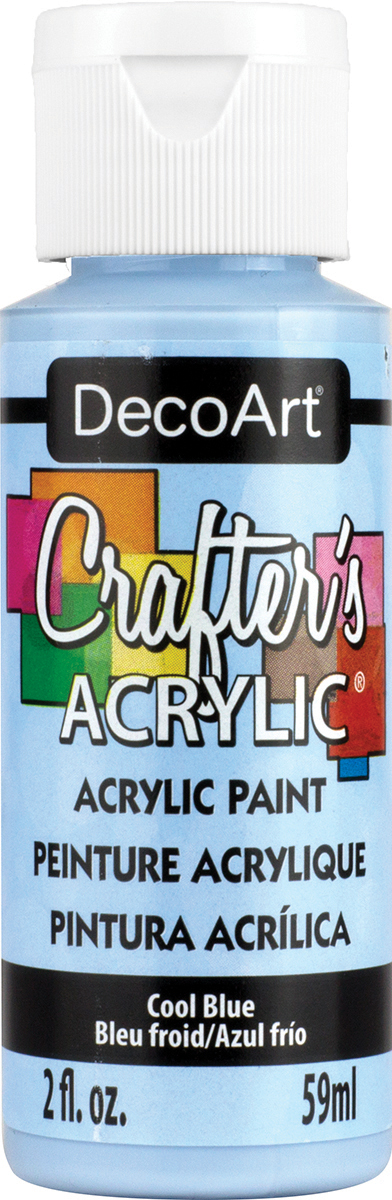 Crafter's Acrylic All-Purpose Paint 2oz-Cool Blue