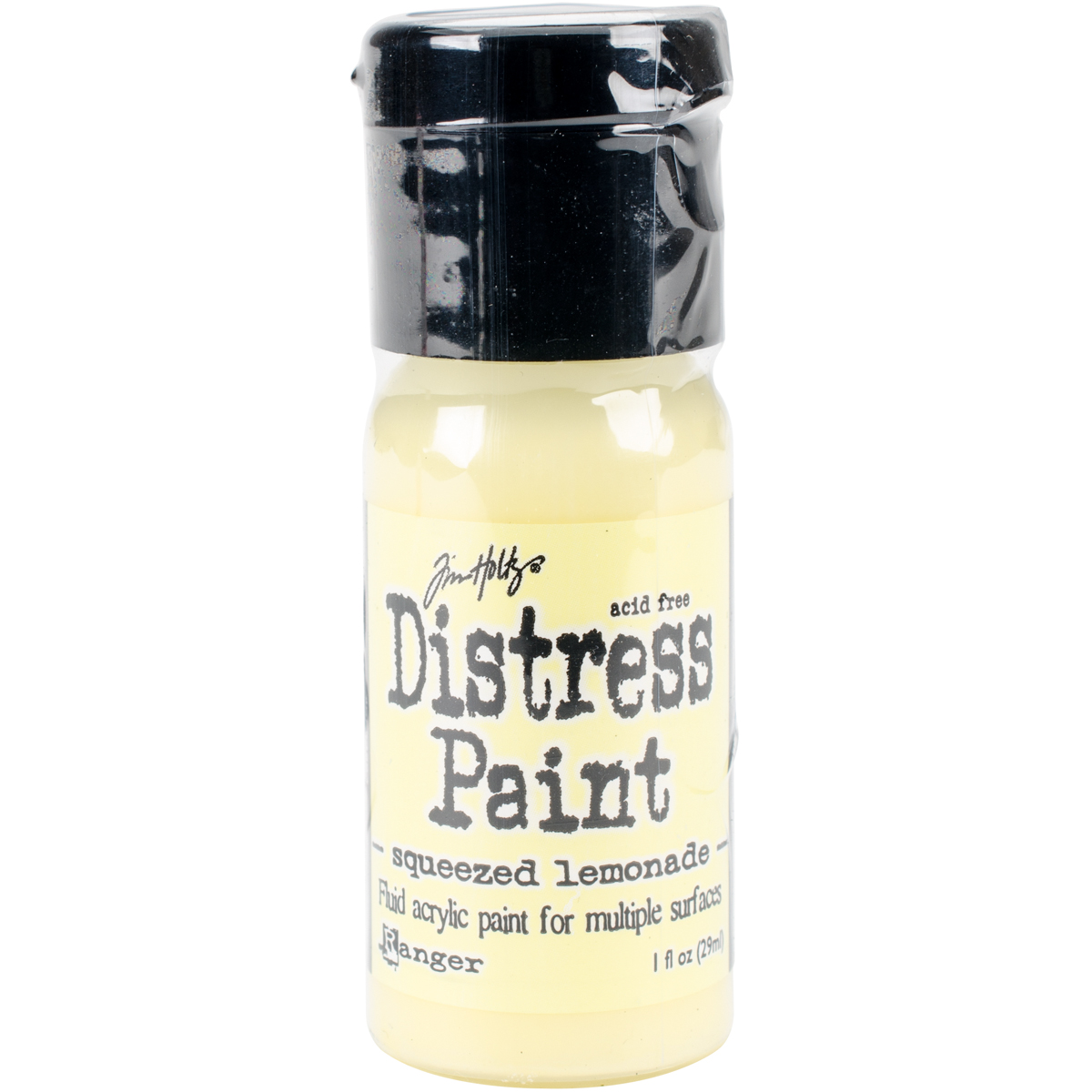 Squeezed lemonade distress paint