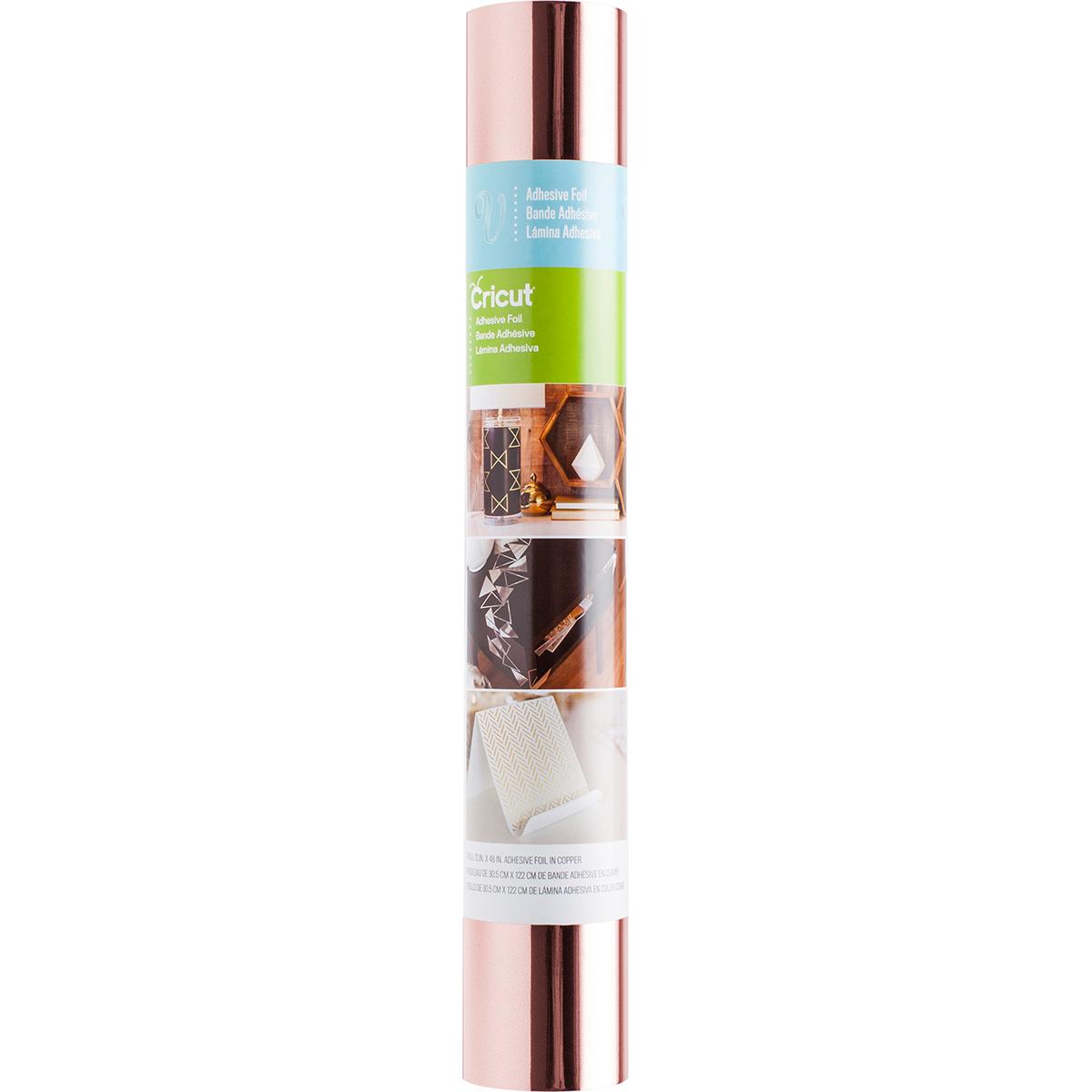 Cricut Adhesive Metallic Foil 12X48-Rose Gold
