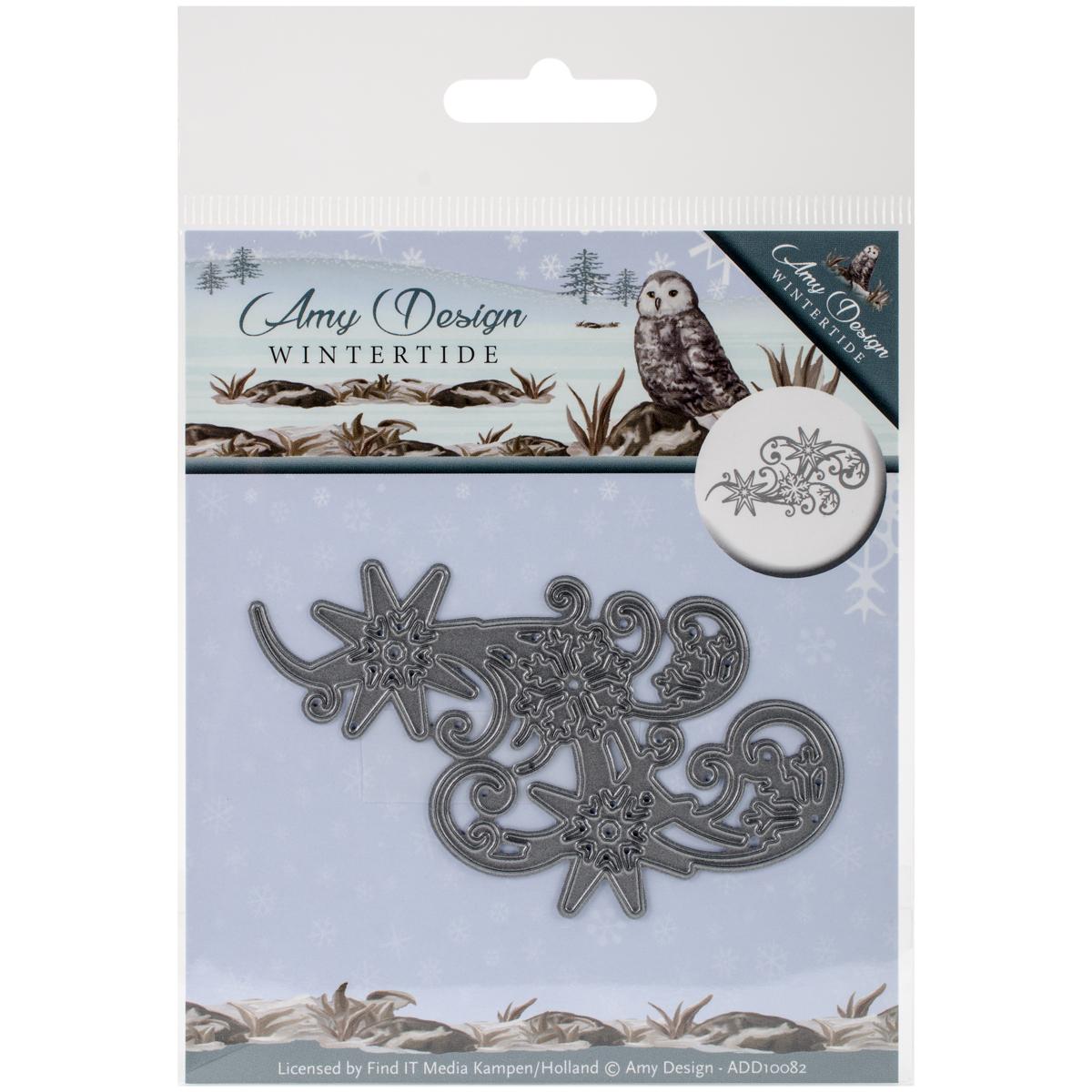 Find It Trading Amy Design Die-Swirl Ice Crystal, Wintertide