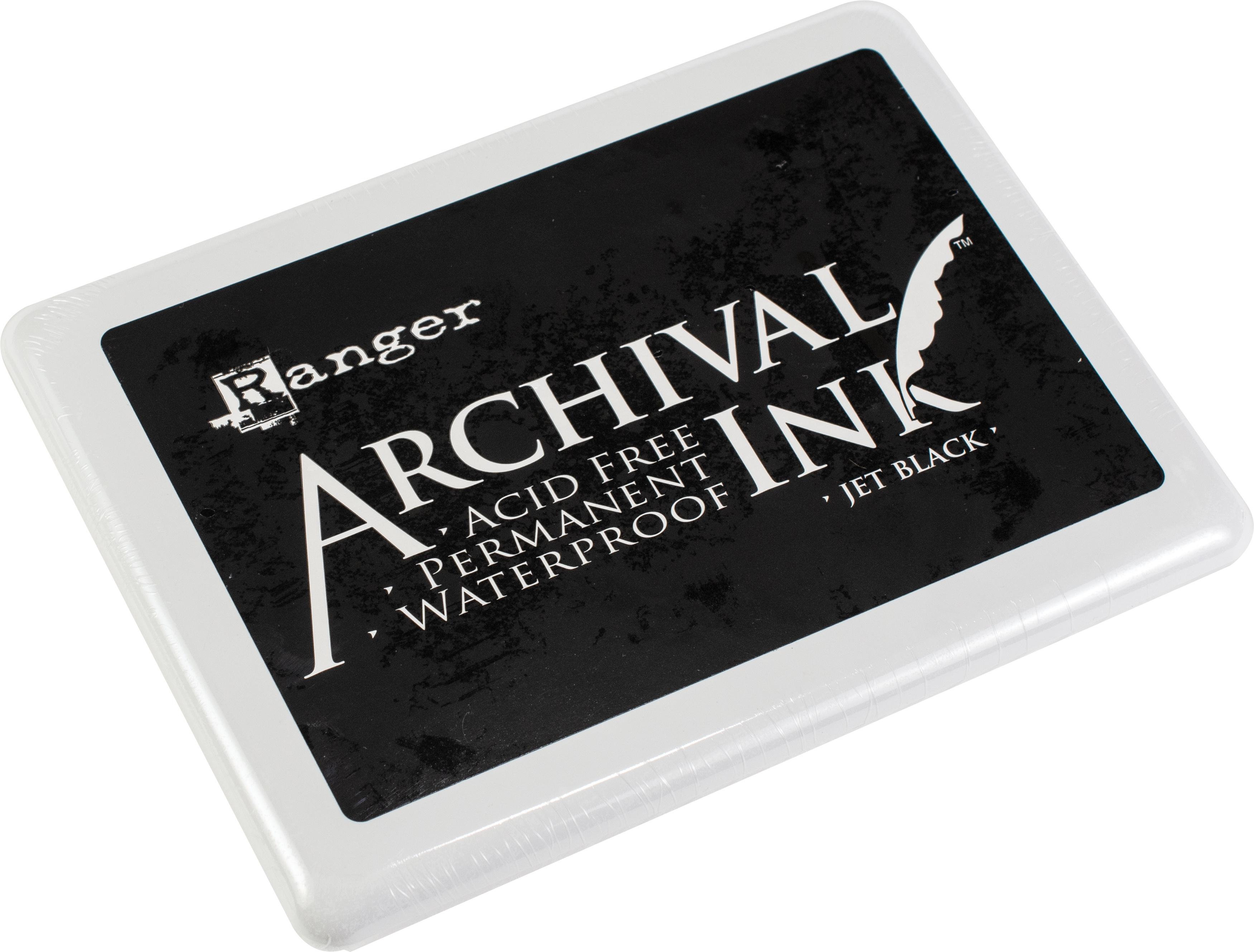 jumbo jet black archival pad