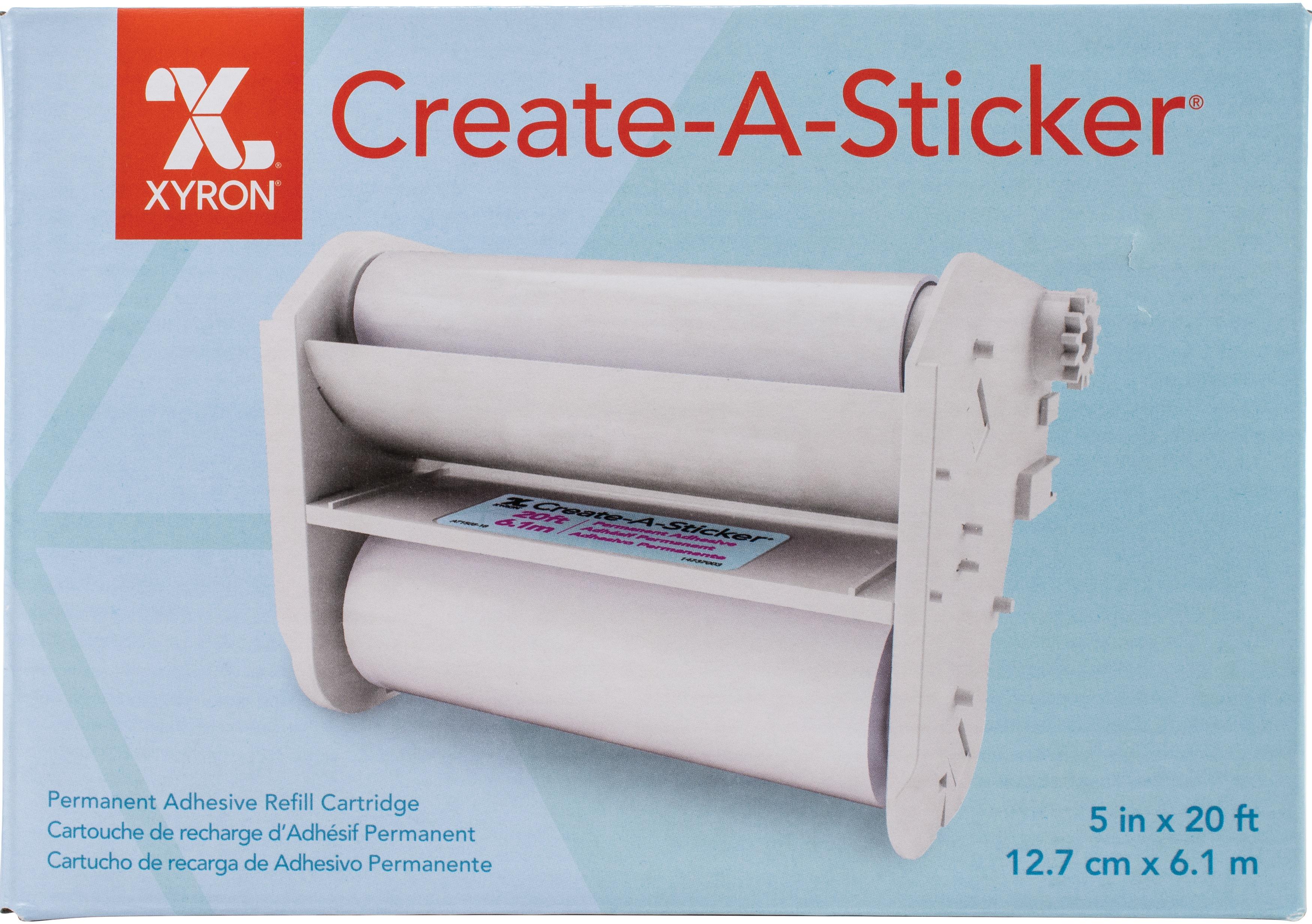 Xyron 500 Refill Cartridge-5X20' Permanent