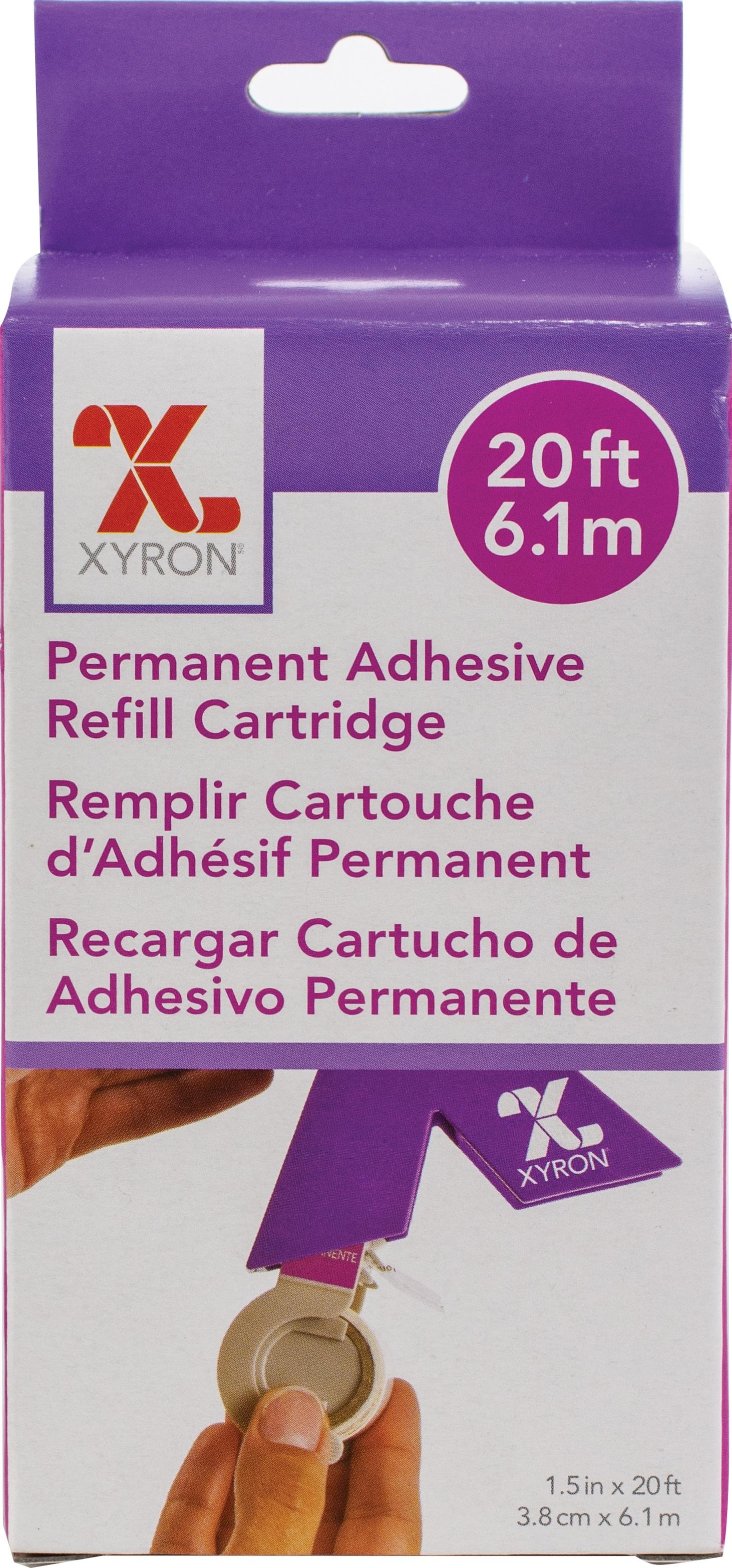 Xyron 150 Refill Cartridge-1.5X20' Permanent