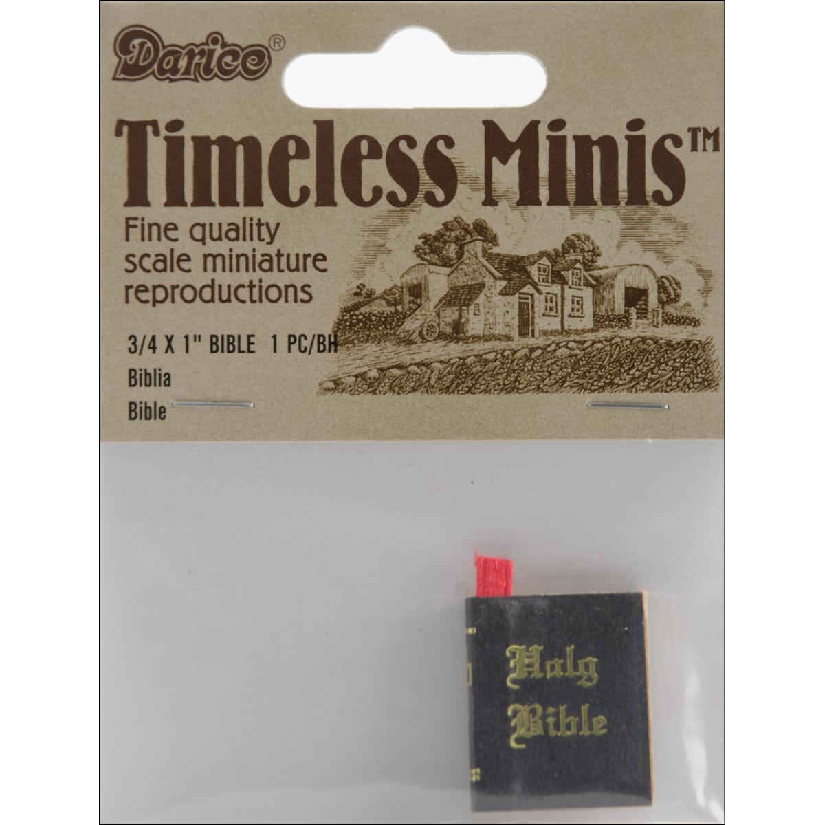 Darice Timeless Minis Bible