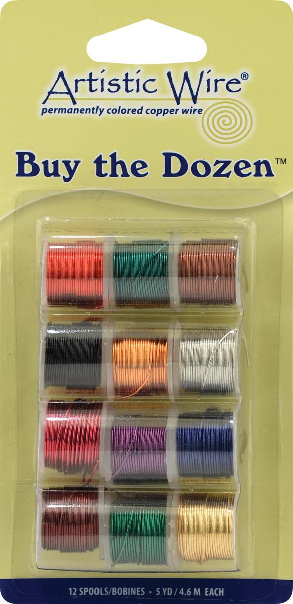 Artistic Wire Buy-The-Dozen 5yd 12/Pkg-26 Gauge