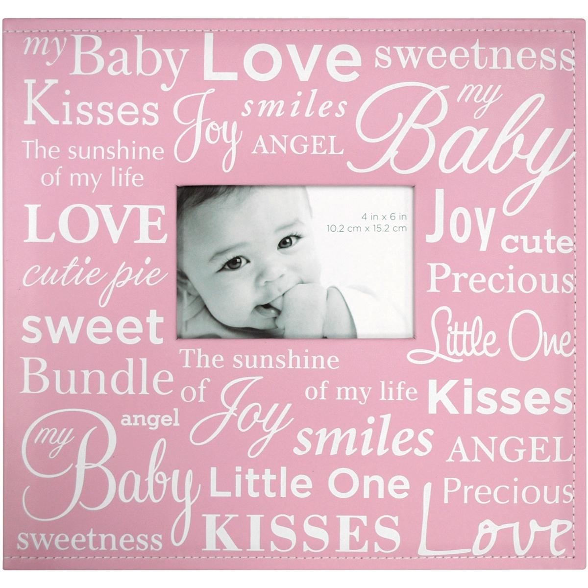 MBI Expressions Post Bound Album W/Window 12X12-Baby - Pink