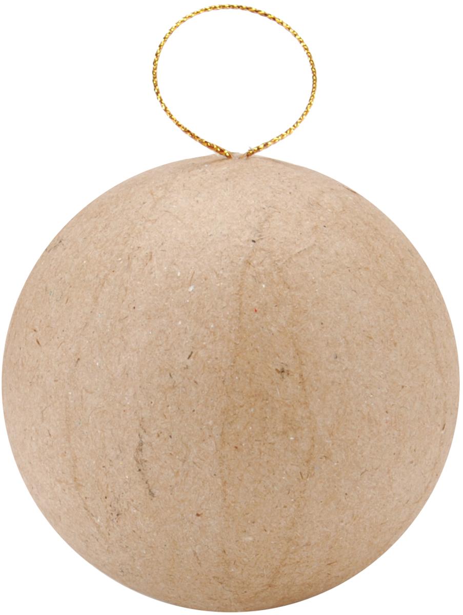 Darice Paper-Mache Ball Ornament-2.5