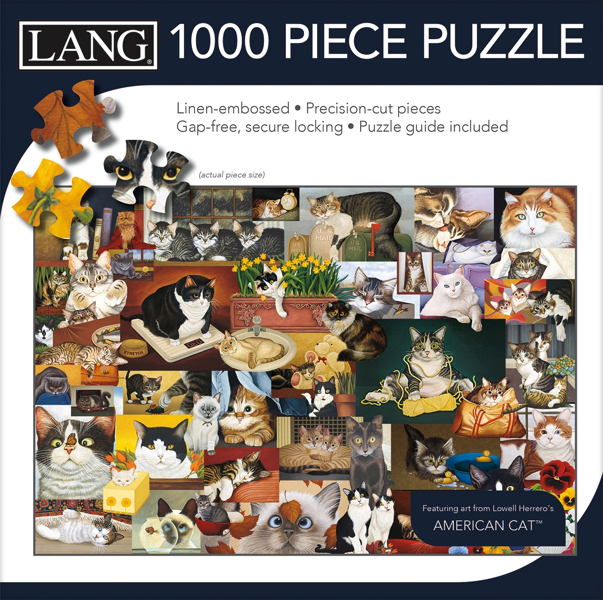 Jigsaw Puzzle 1000 Pieces - American Cat