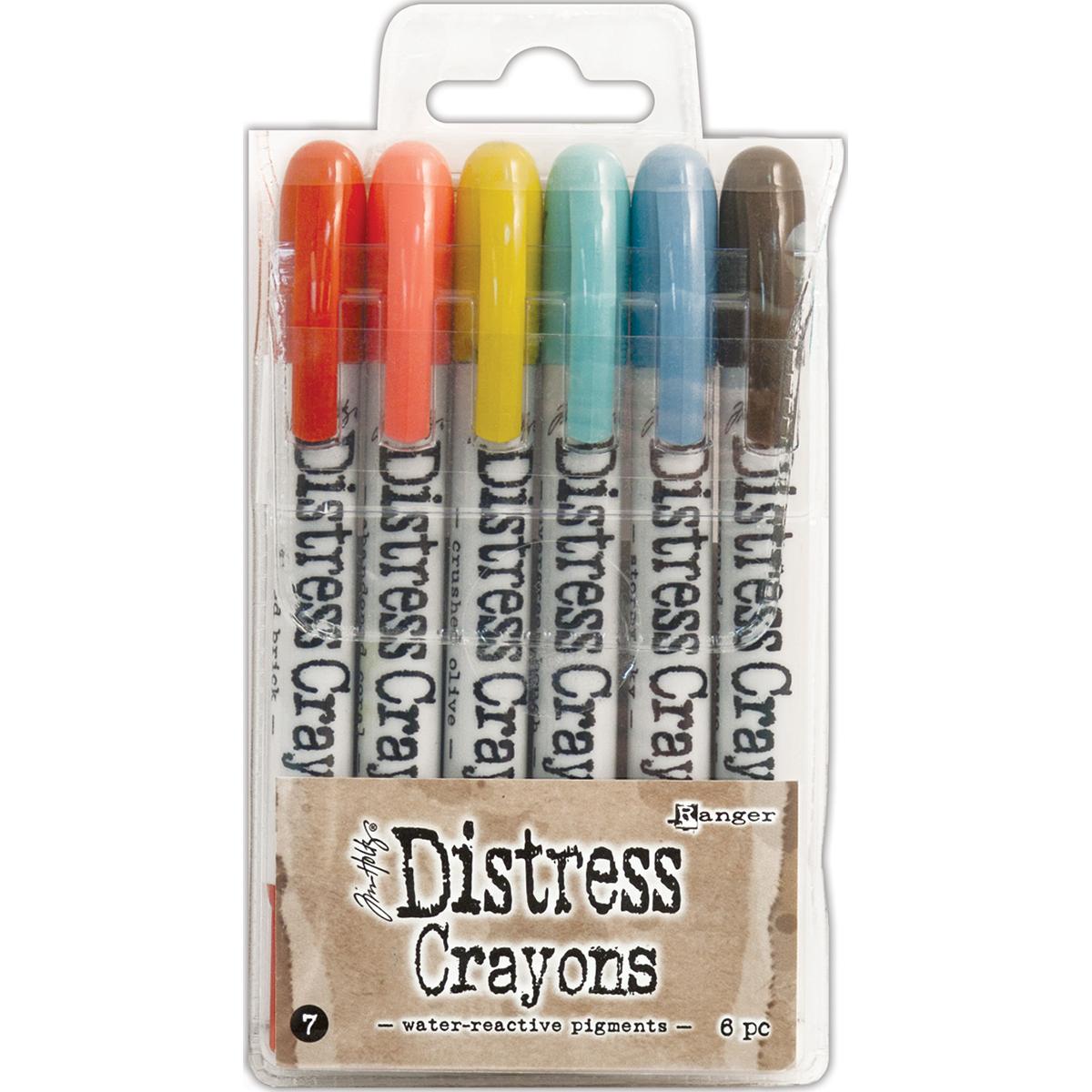 DISTRESS CRAYONS #7