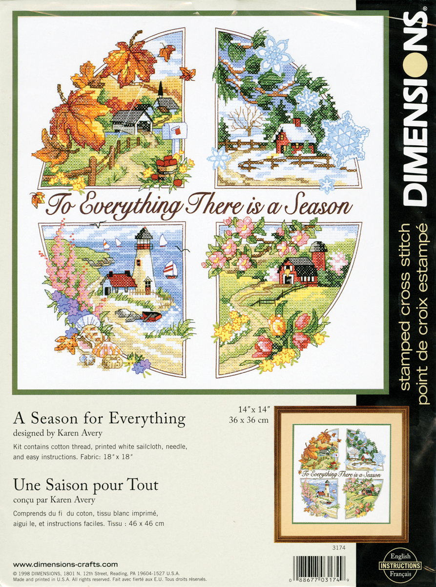 A Season For Everything Stamped Kit