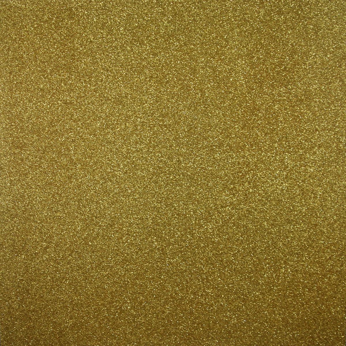 Glitter Cardstock Gold