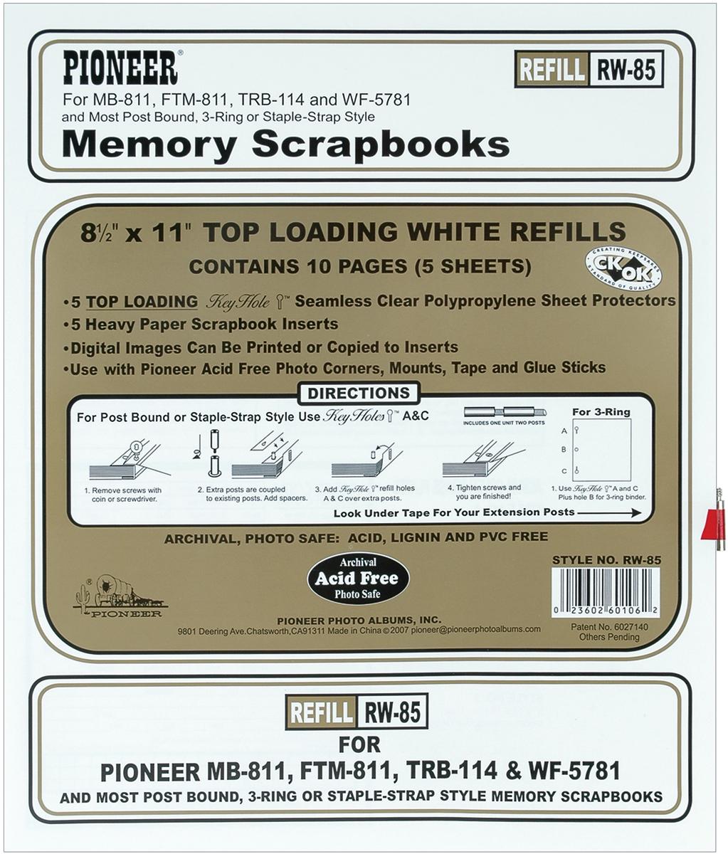 REF-PN 8X11 MB811 WHITE