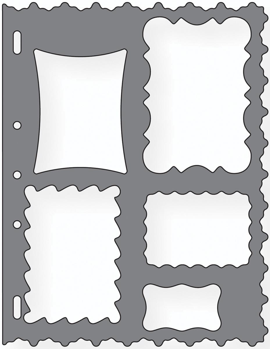 Shape Template 8.5X11-Frames