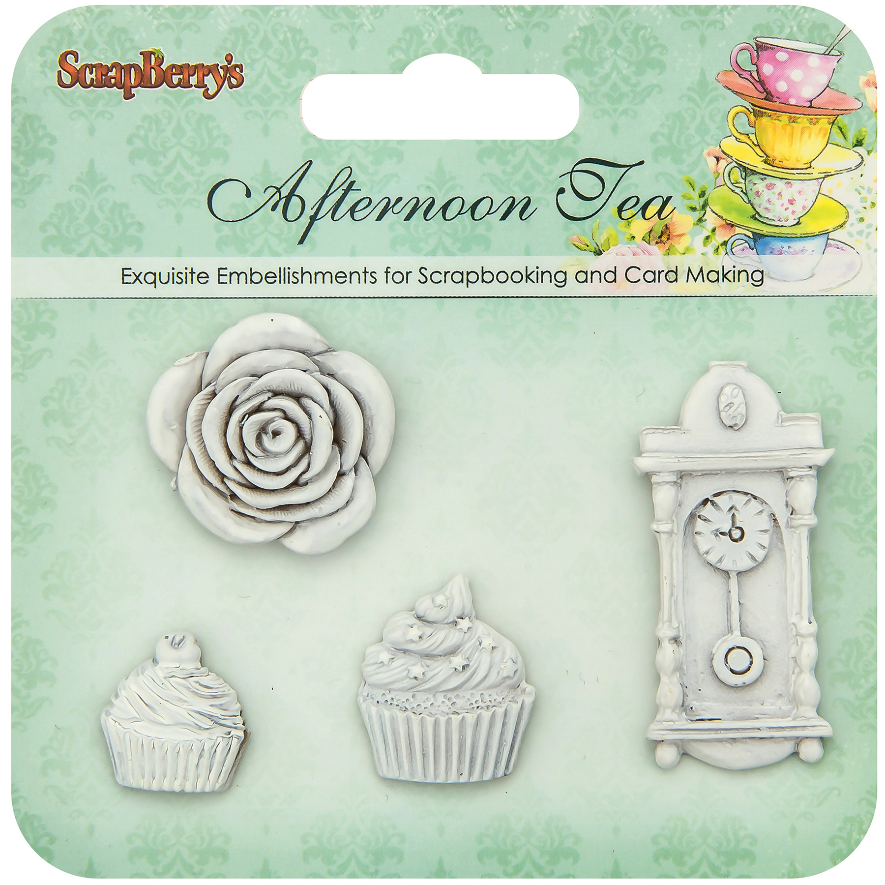 Tea Party Charms