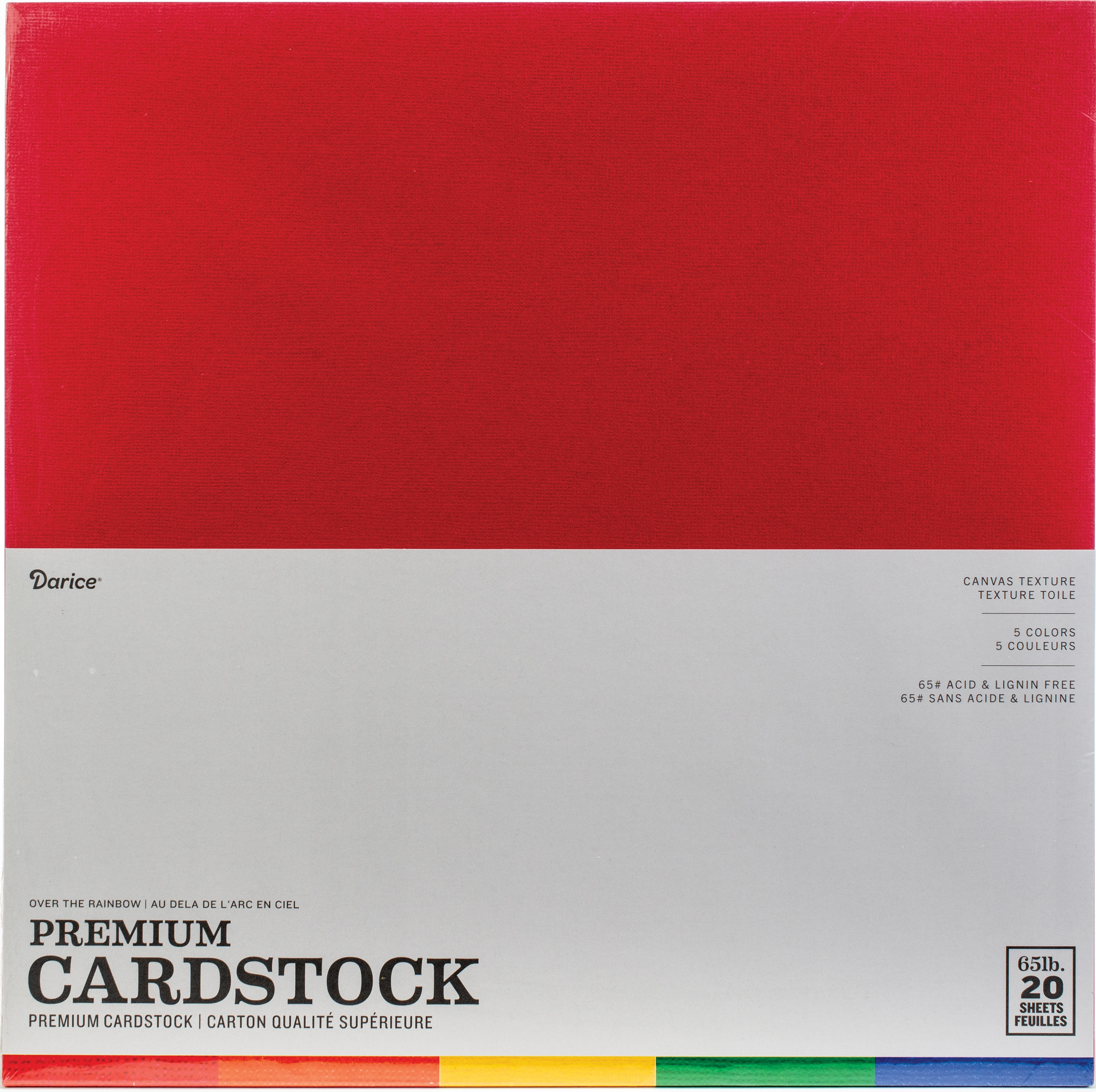 Over The Rainbow Cardstock Pack