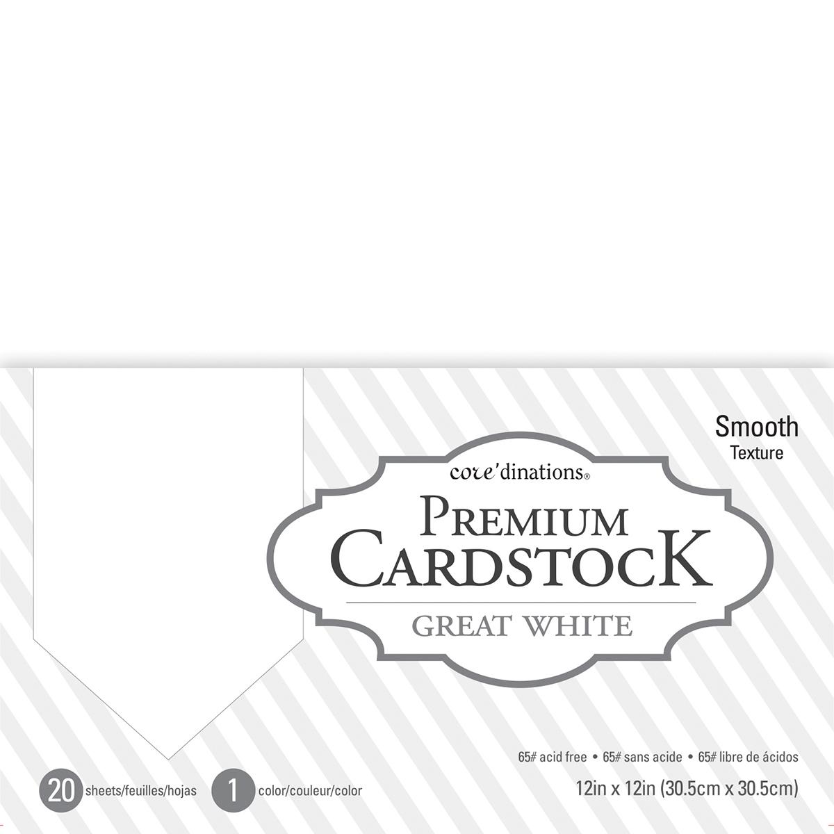 Darice 12x12 Smooth Cardstock