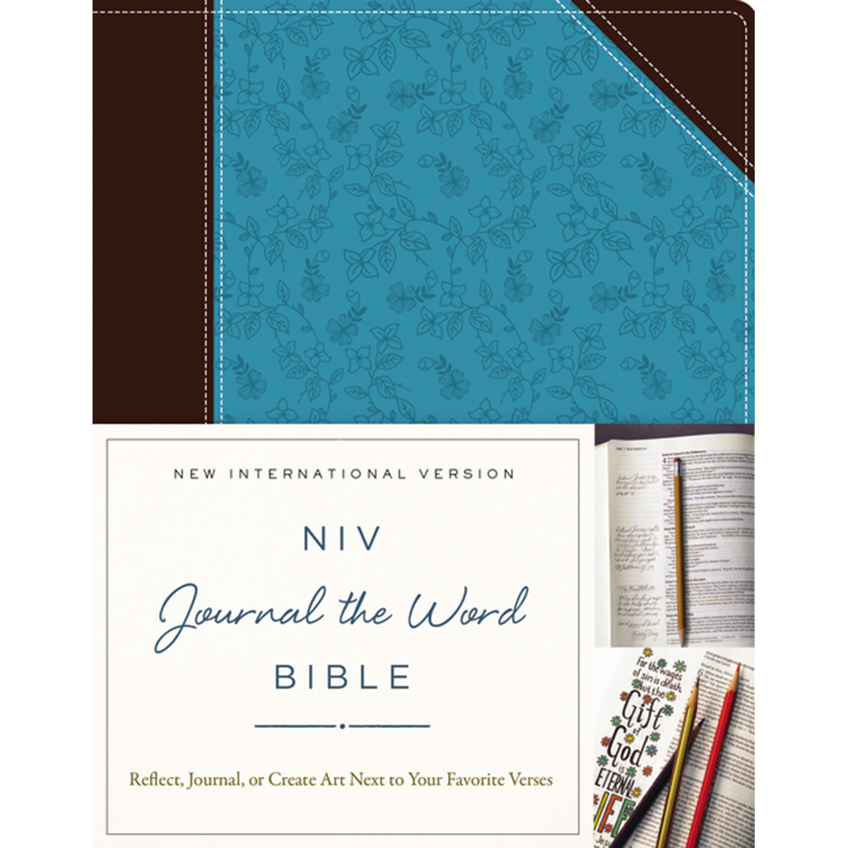 CHOC/TURQ -NIV JOURNL WRD BIBLE