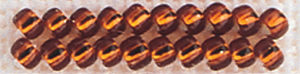 Mill Hill Glass Seed Beads 4.54g-Brilliant Copper**