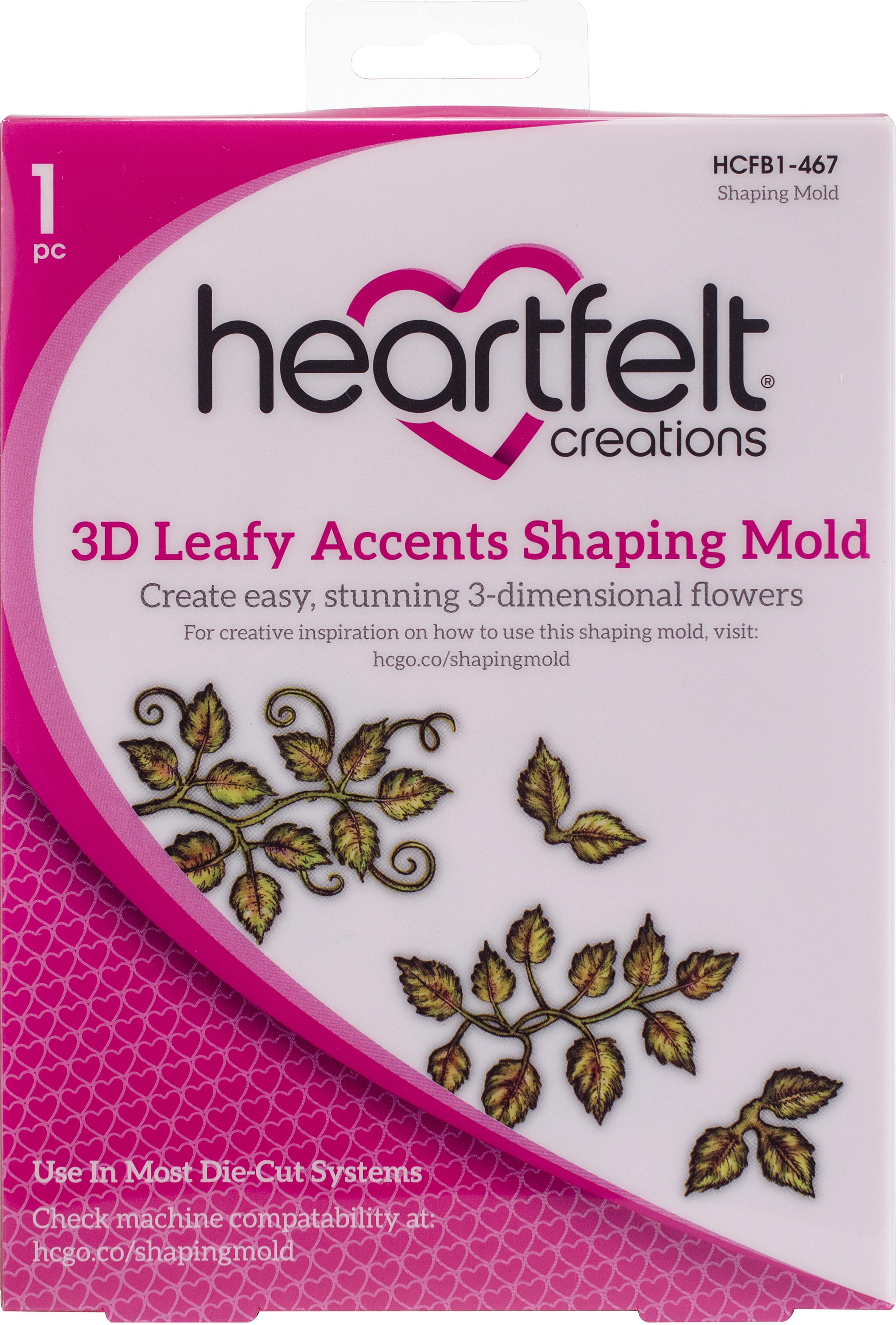 3D SHAPING MOLD LEAFY