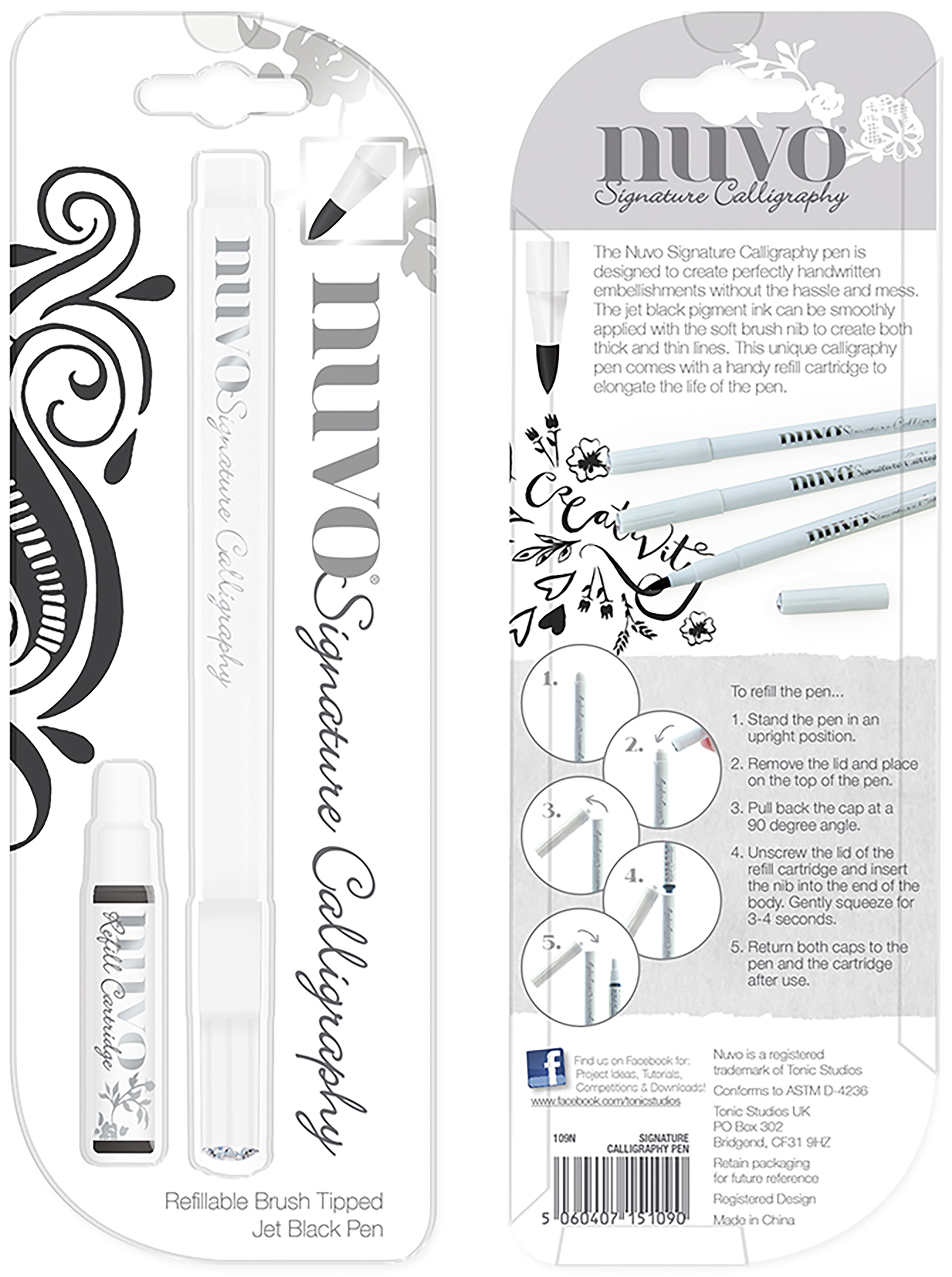 Nuvo Signature Calligraphy Pen-