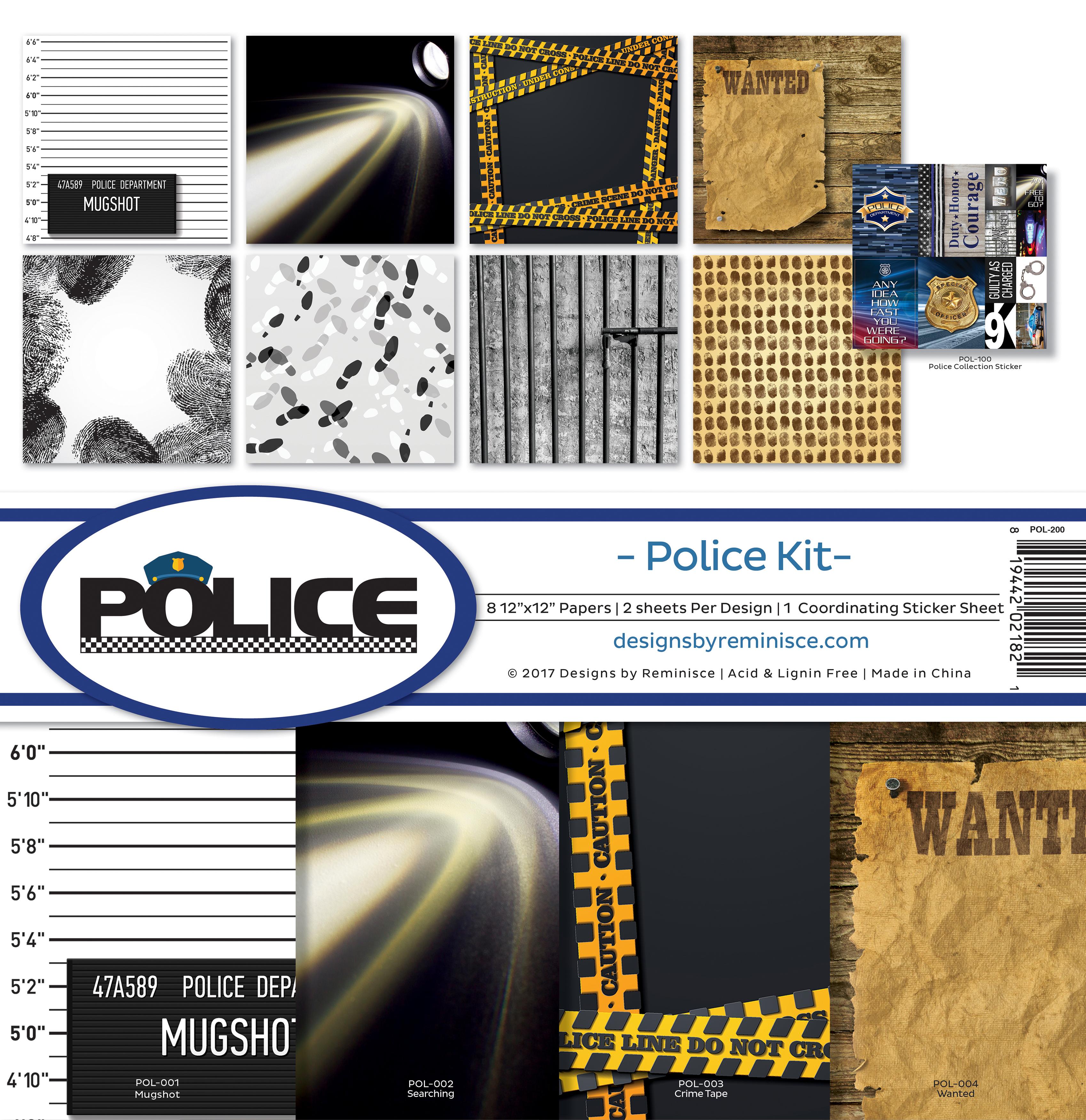Reminisce Police Kit