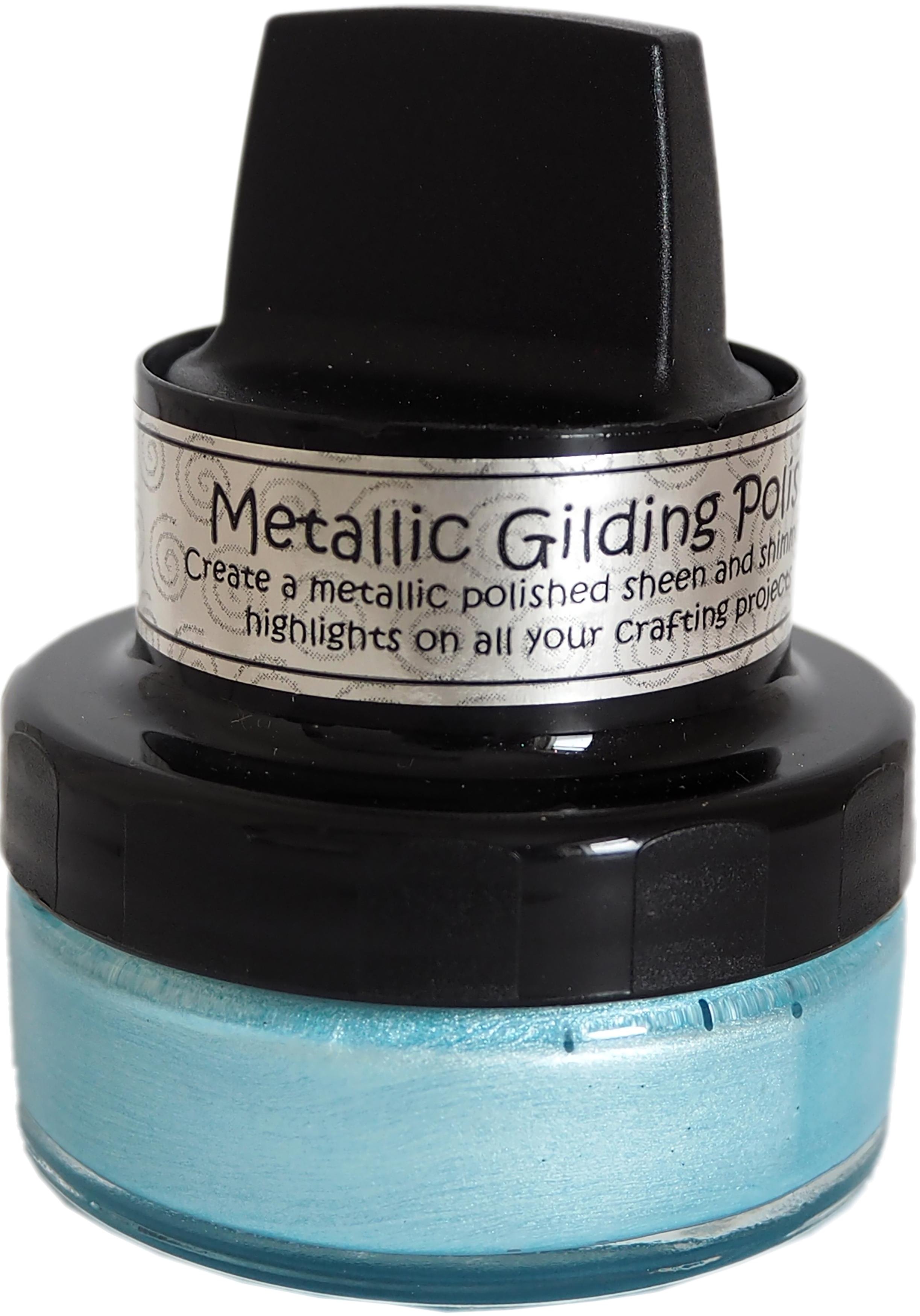 Cosmic Shimmer Metallic Gilding Polish Powder Blue