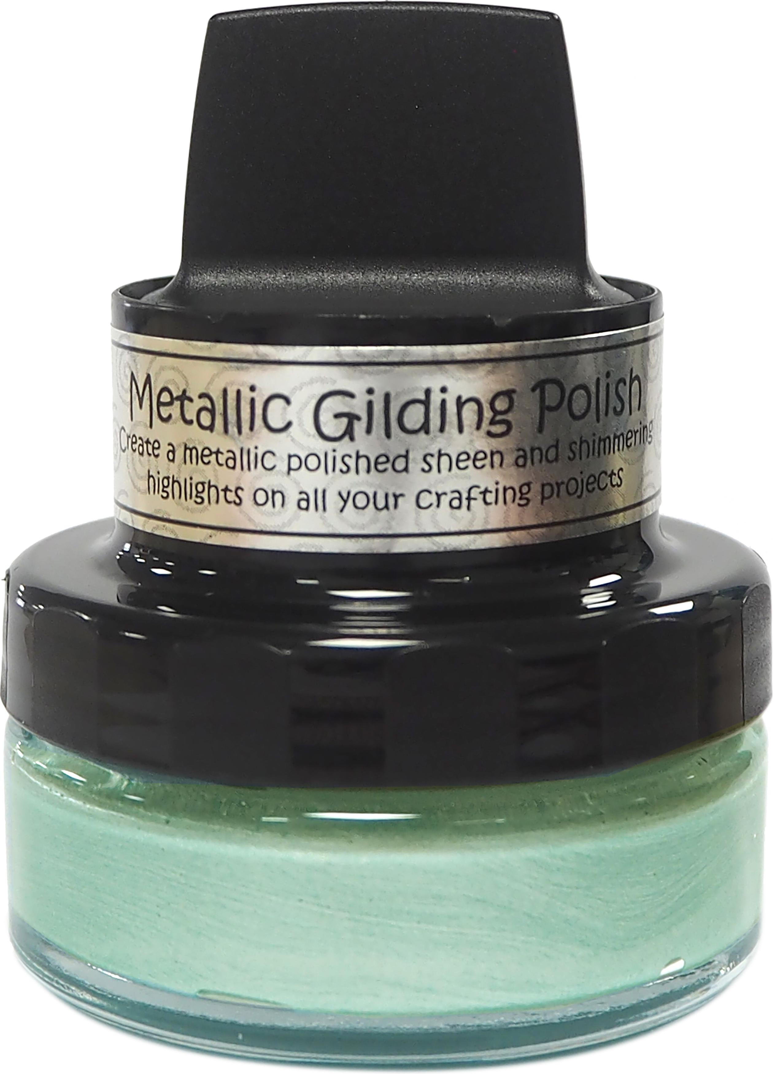 Cosmic Shimmer Metallic Gilding Polish Mint
