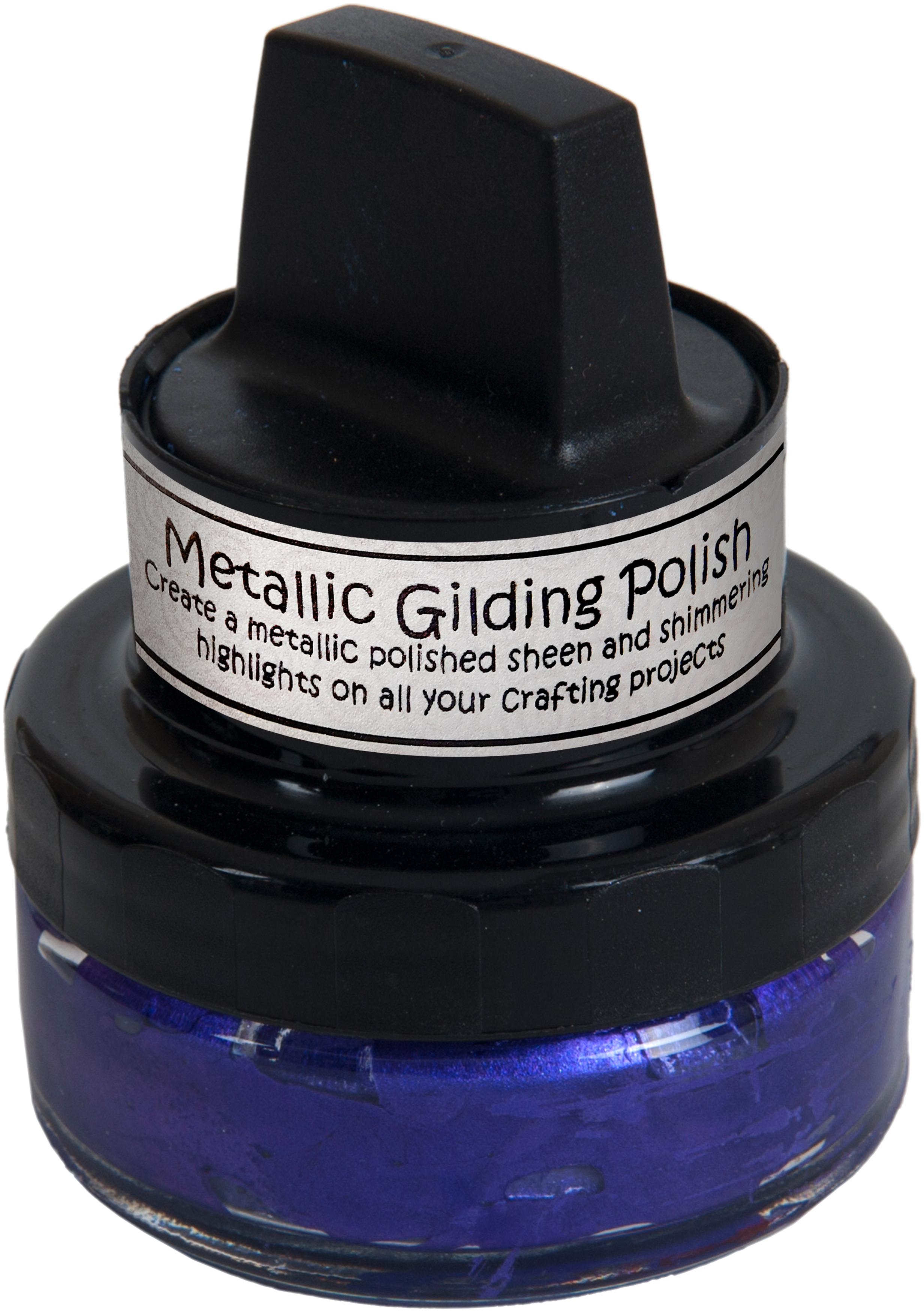 Cosmic Shimmer Metallic Gilding Polish Purple Mist