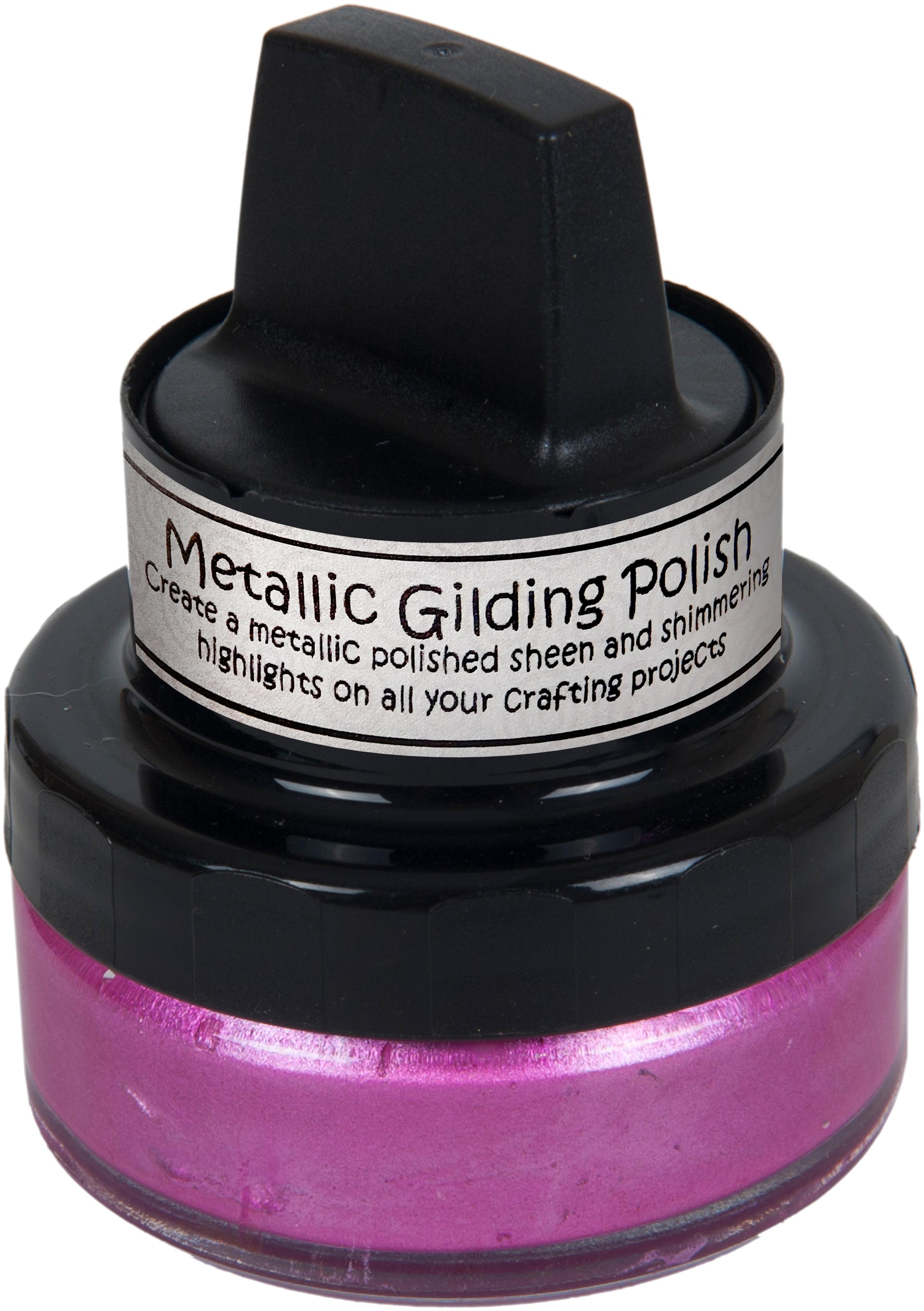 Cosmic Shimmer Metallic Gilding Polish-Indian Pink