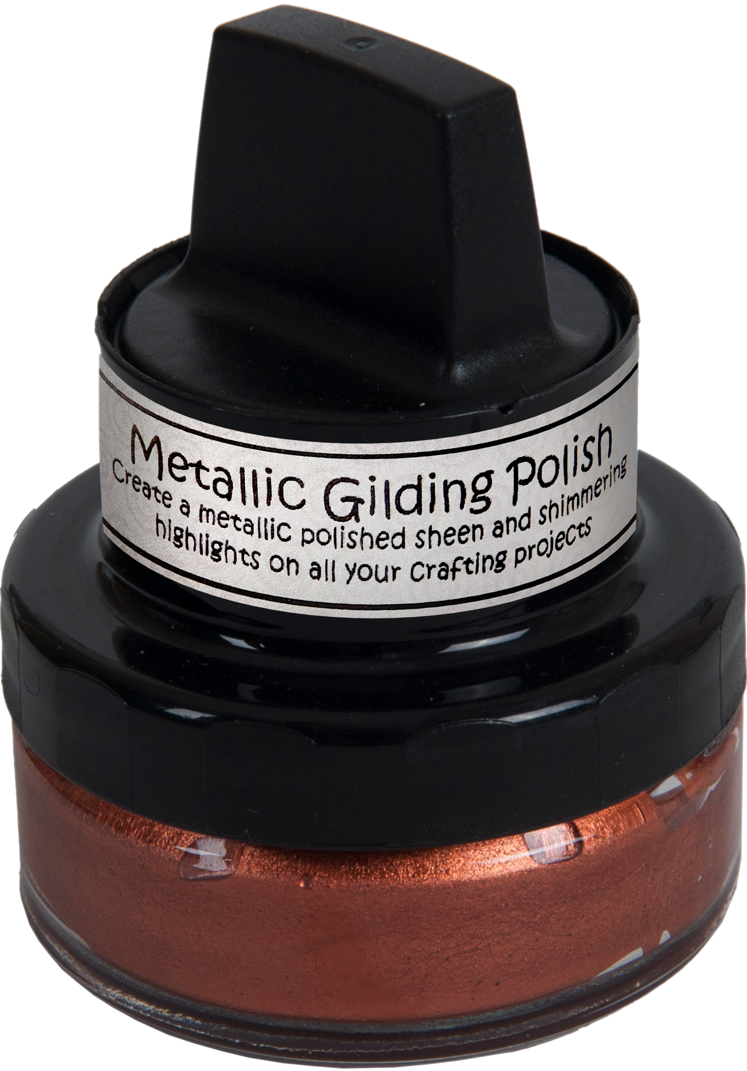 Cosmic Shimmer Metallic Gilding Polish Red Bronze