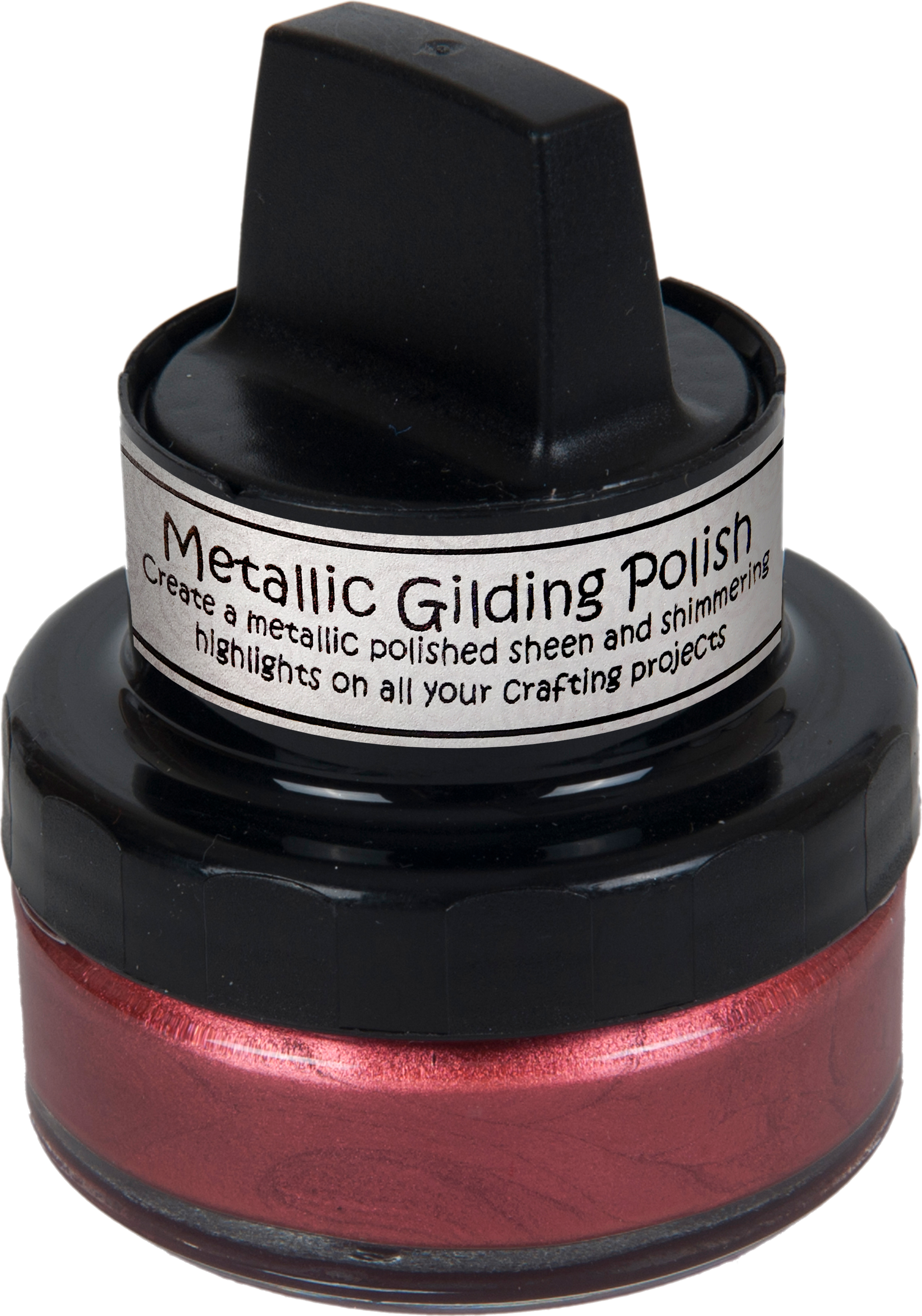 Cosmic Shimmer Metallic Gilding Polish Rich Red