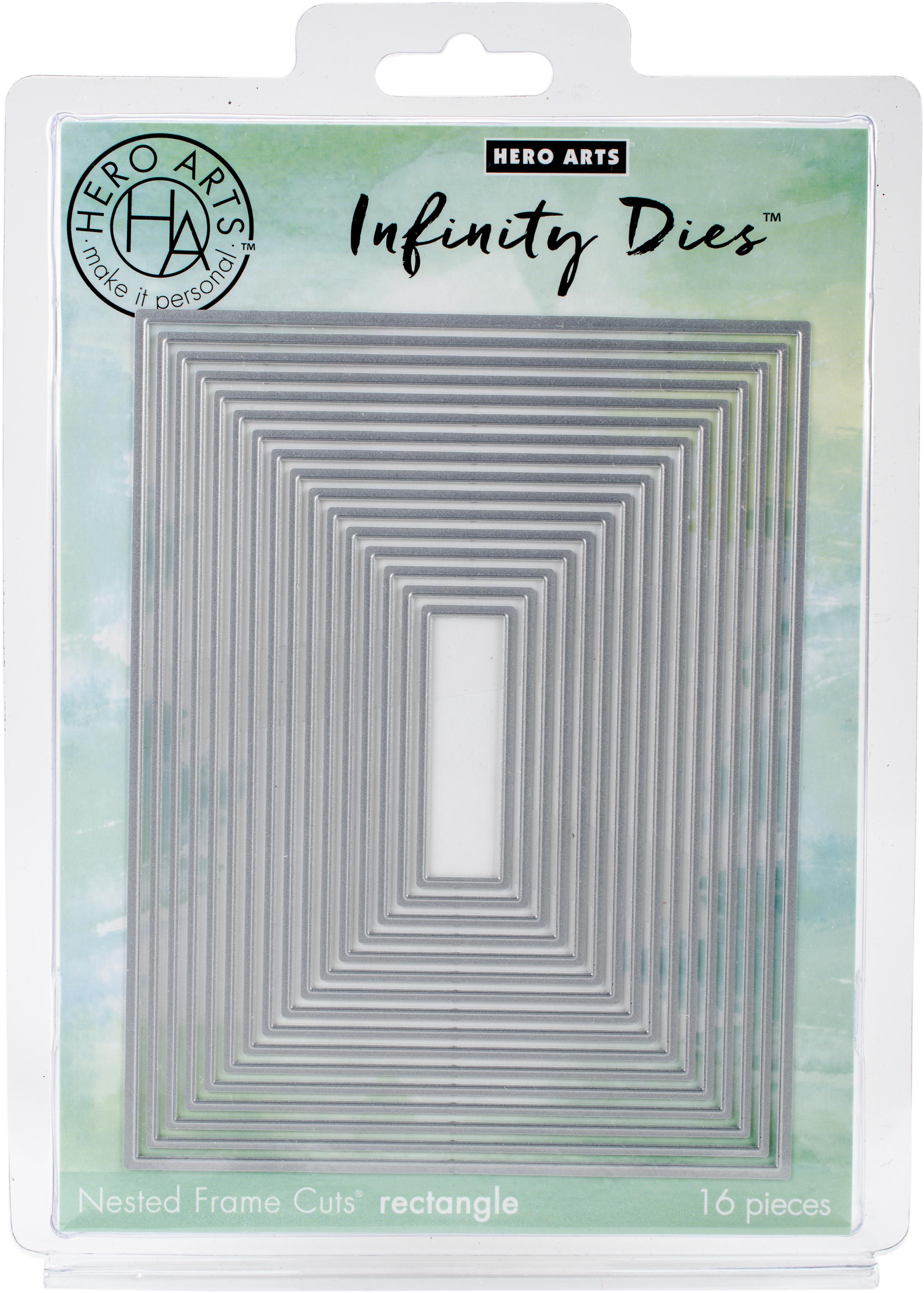 Hero Arts rectangle infinity Metal dies