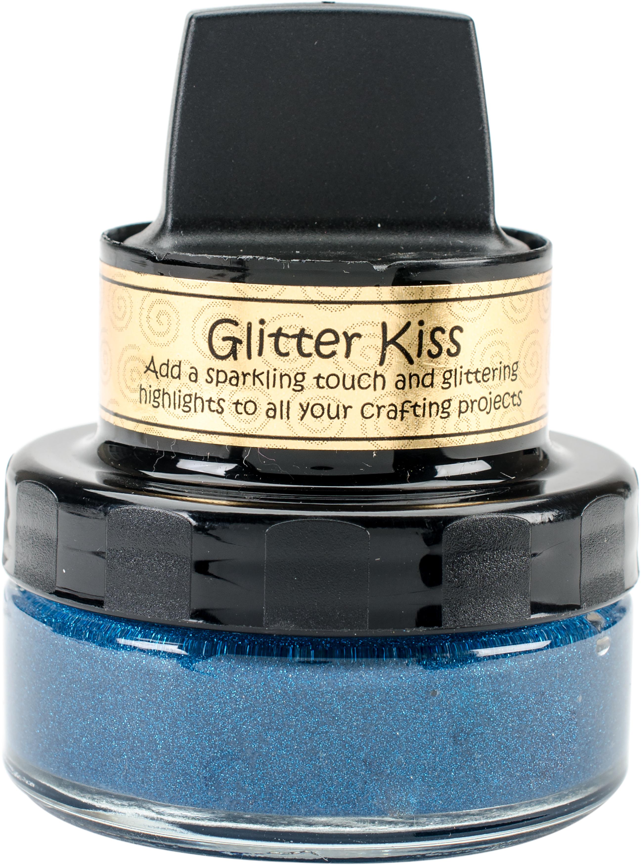 Cosmic Shimmer Glitter Kiss-Blue Teal