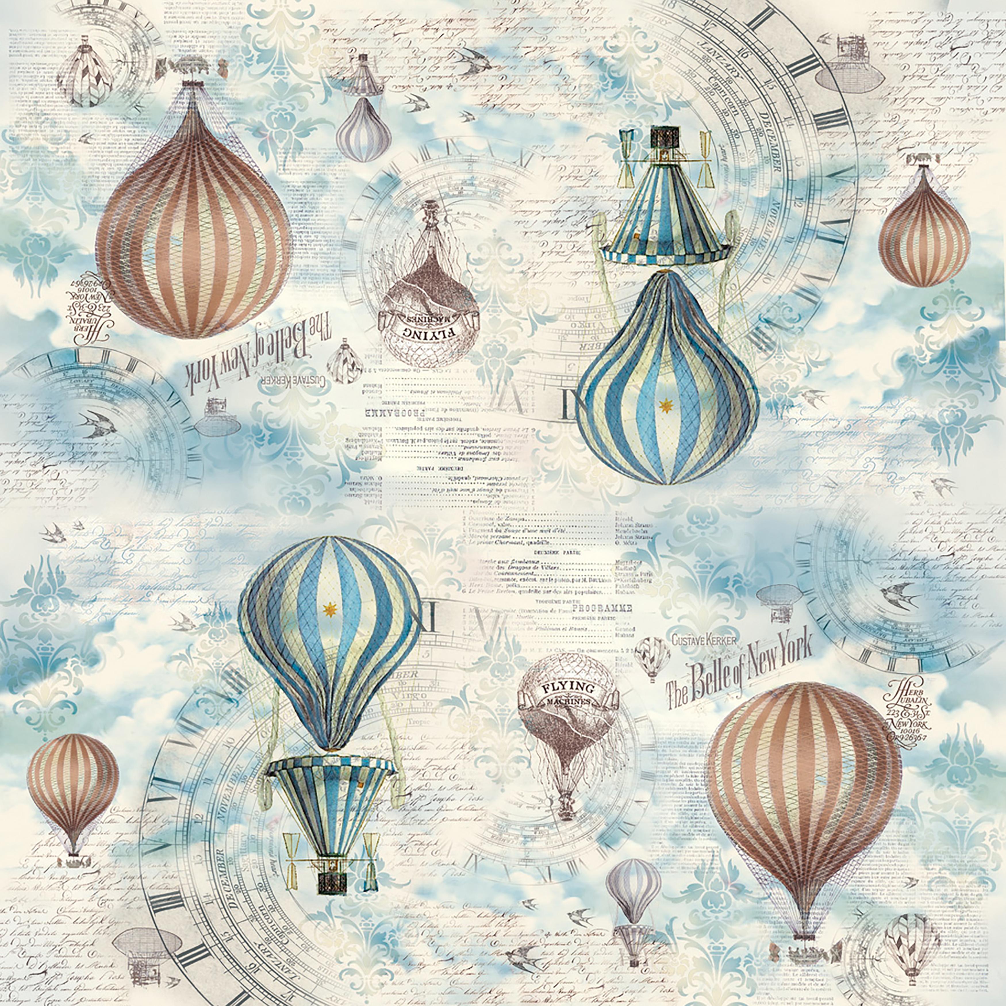 Rice Paper Napkin Balloon