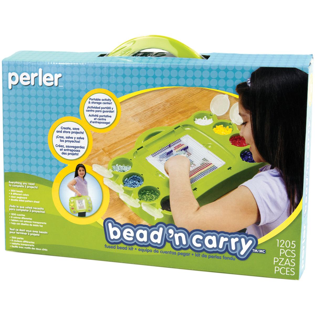 Perler Bead 'n Carry Fused Bead Kit-