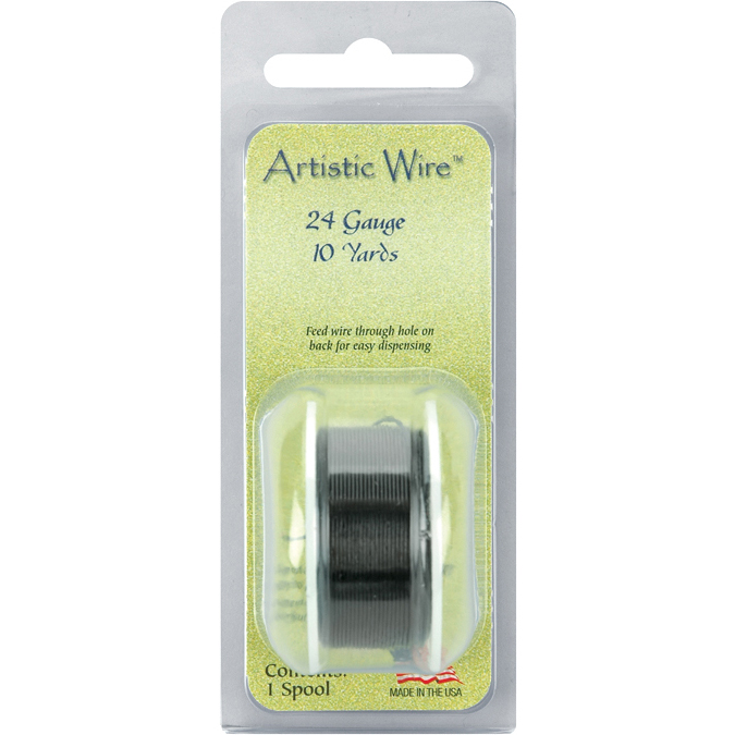 Artistic Wire 24 Gauge 10yd - 3 COLORS