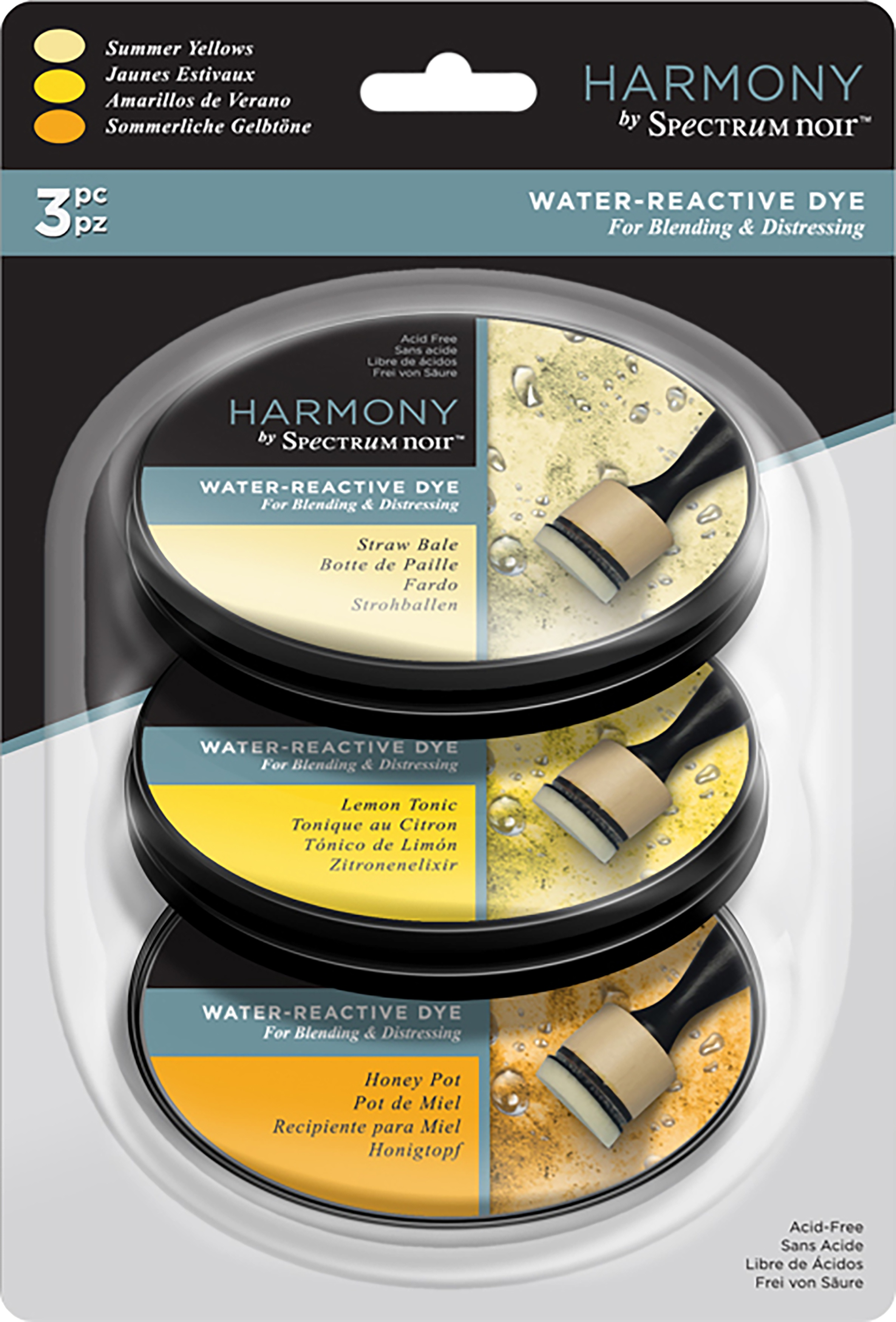 Spec Ink Water-Reactive Dye Summer Yellows