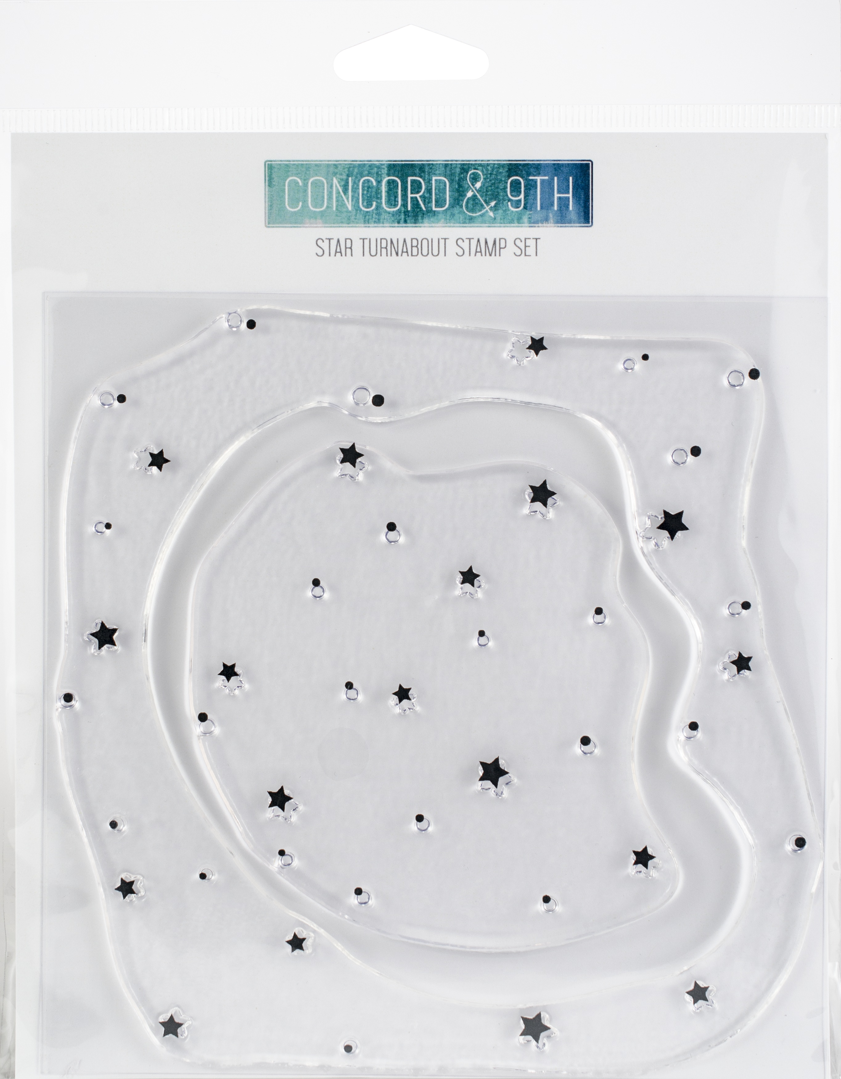 Concord & 9th Star turnabout stamp set