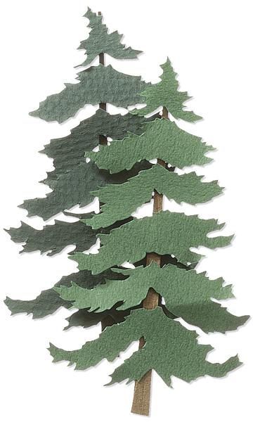 PINE TREES-JOLEES CHRISTMAS STK