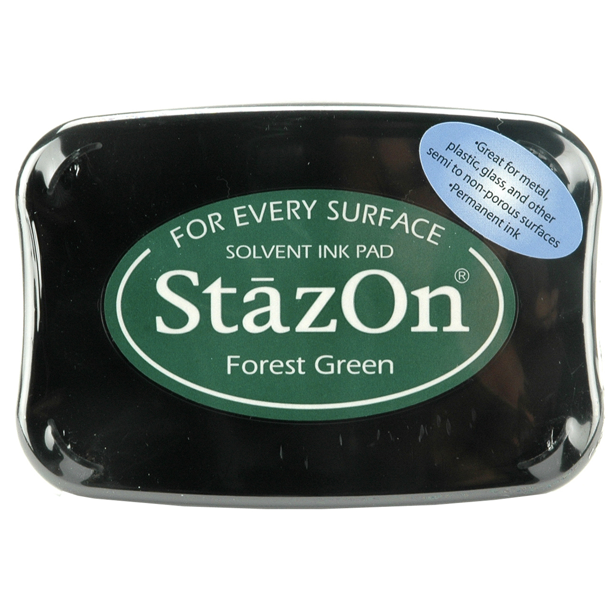 StazOn Solvent Ink Pad-Forest Green