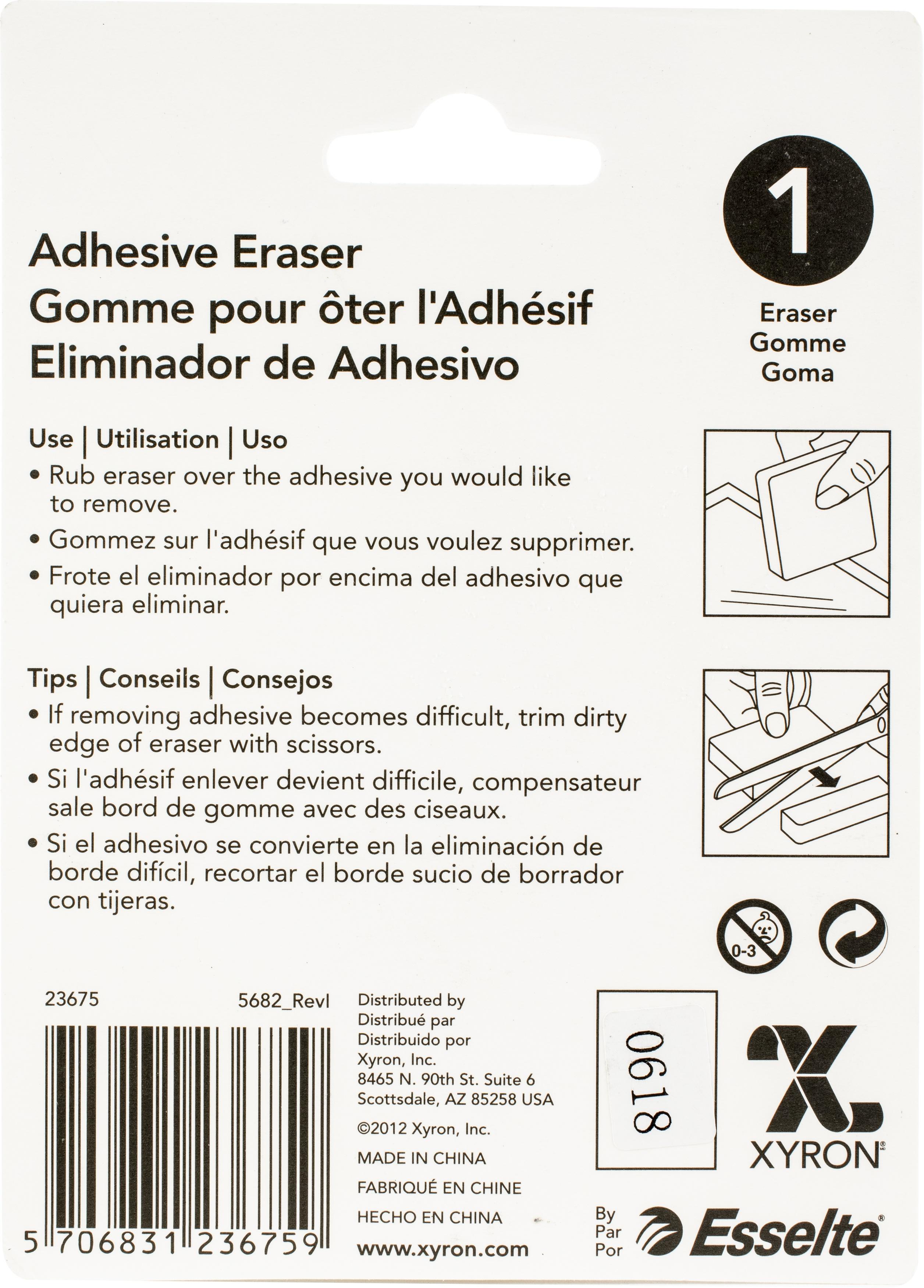 Xyron 2X2 Adhesive Eraser-