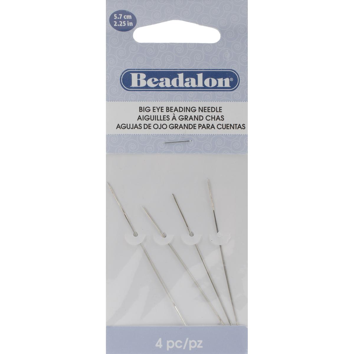 Beadalon Big Eye Beading Needle