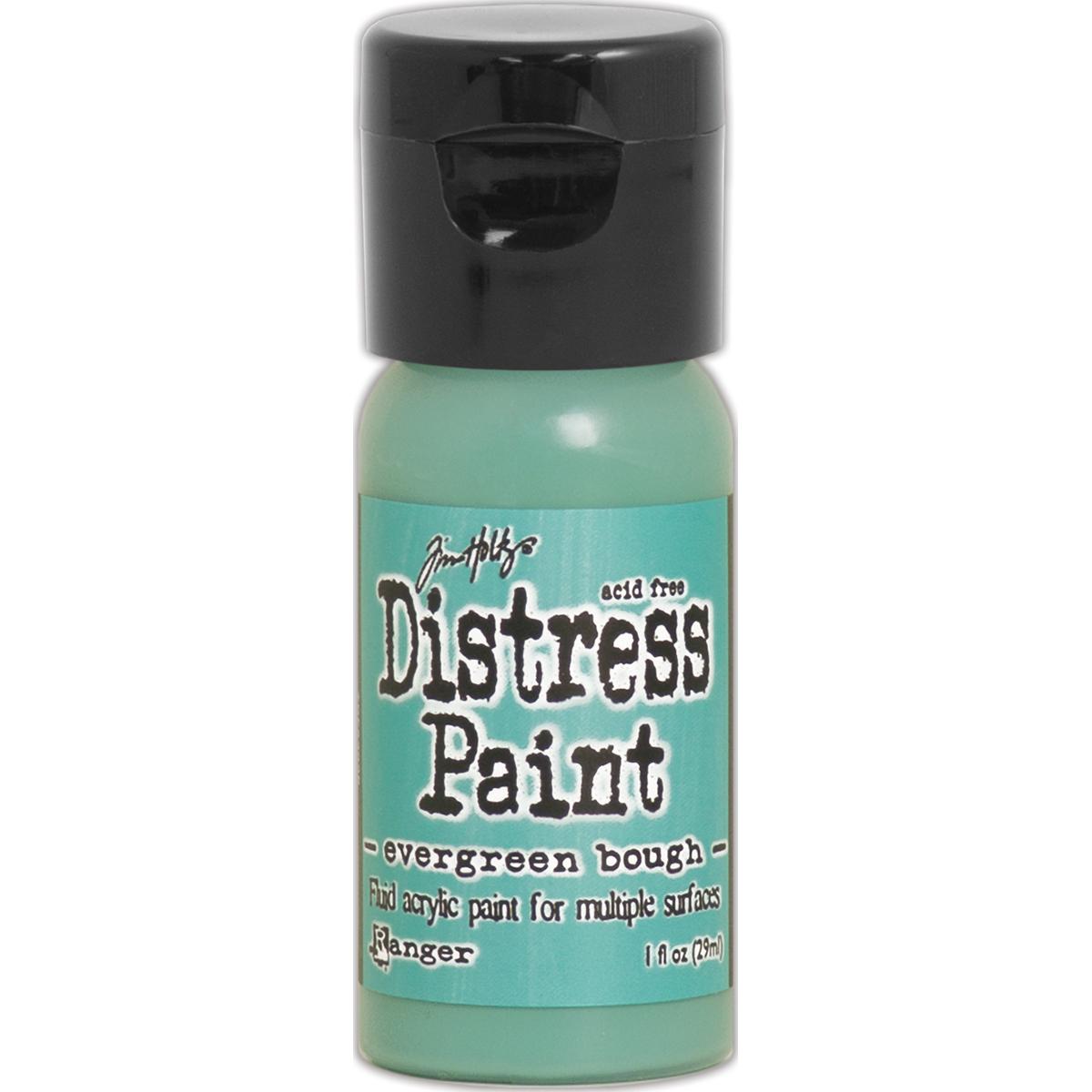 Evergreen bough distress paint
